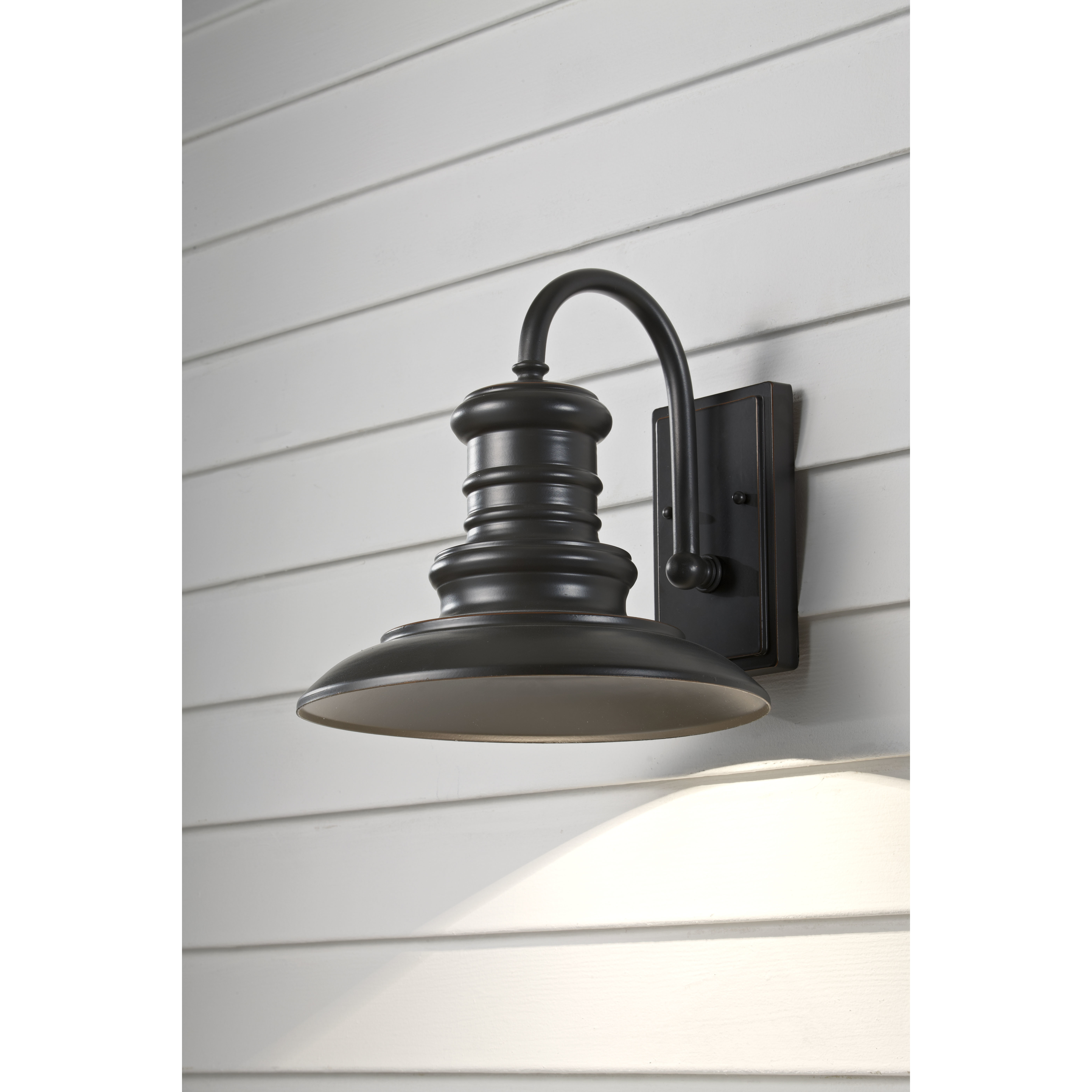 Inspiration about Modern Outdoor Wall Lighting Allmodern Redding Station 1 Light Within Contemporary Rustic Outdoor Lighting At Wayfair (#8 of 15)