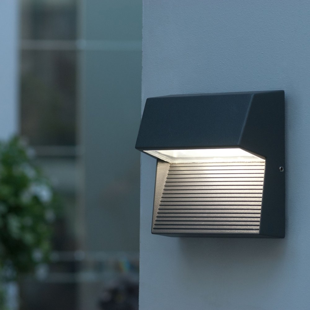 Modern Outdoor Wall Mount Led Light Fixtures — The Mebrureoral Within Outdoor Wall Mounted Led Lighting (#7 of 15)