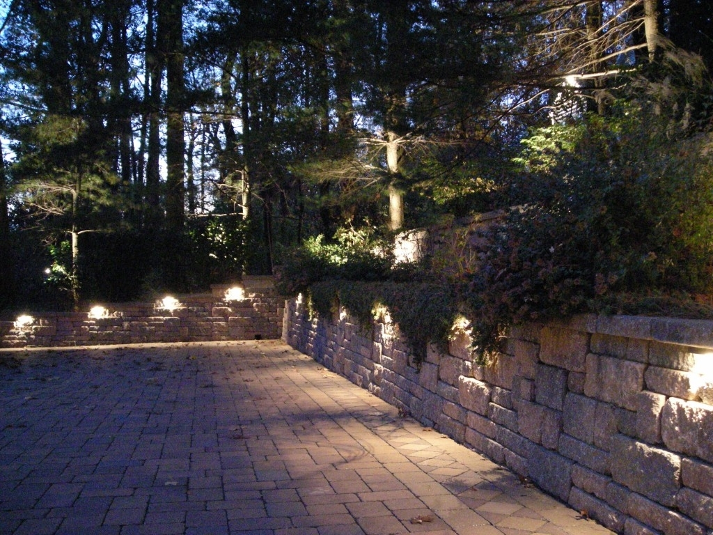 Modern Path Lights Outdoor — Michael Churchos In Contemporary Solar Driveway Lights At Target (#5 of 15)
