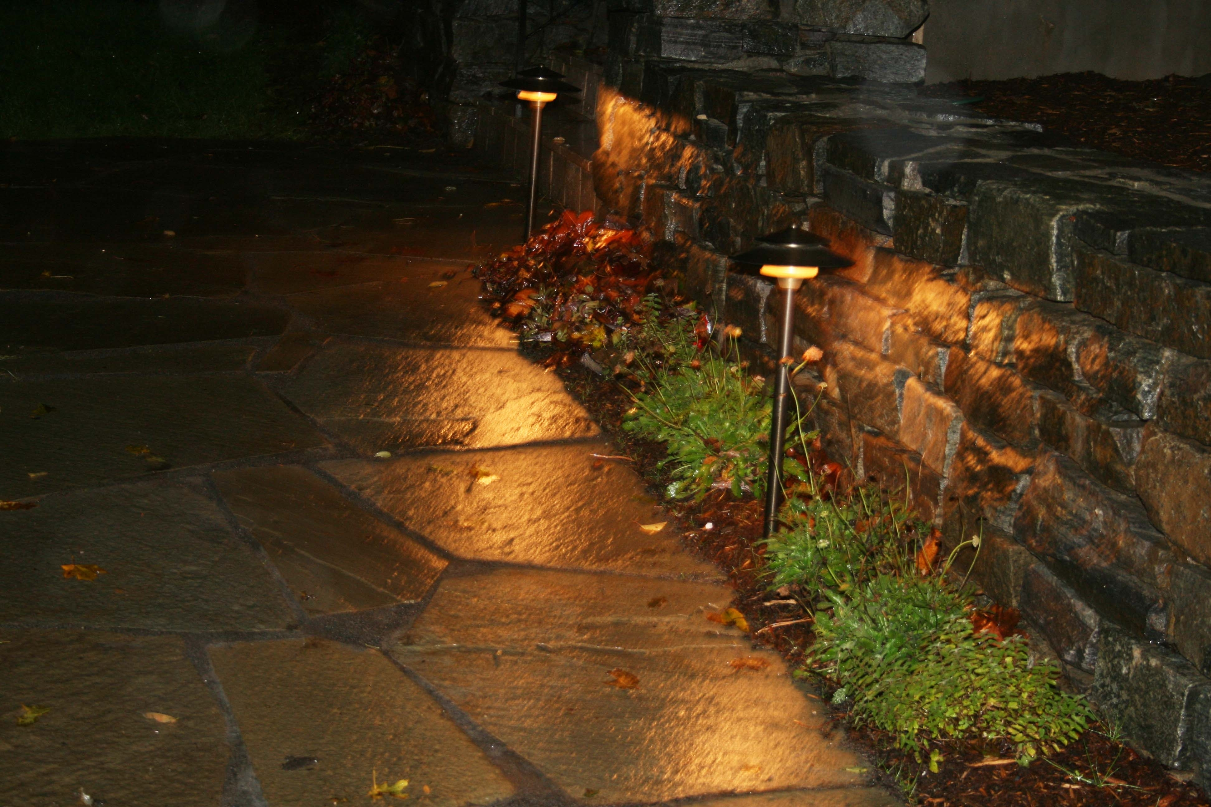 Modern Path Lights Outdoor — Michael Churchos Pertaining To Contemporary Solar Driveway Lights At Target (#6 of 15)