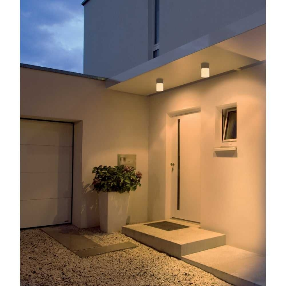 Popular Photo of Modern Outdoor Ceiling Lights