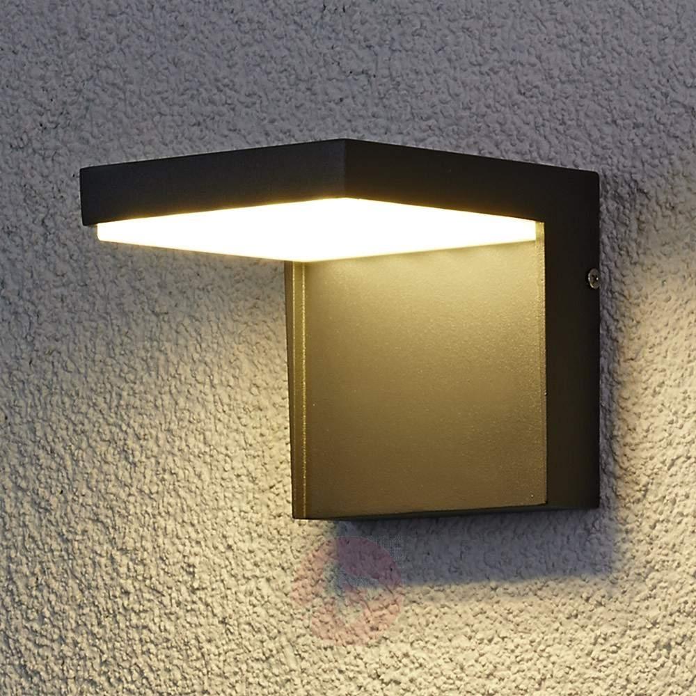 Modern Rachel Led Outdoor Wall Light Aluminium | Lights (#13 of 15)