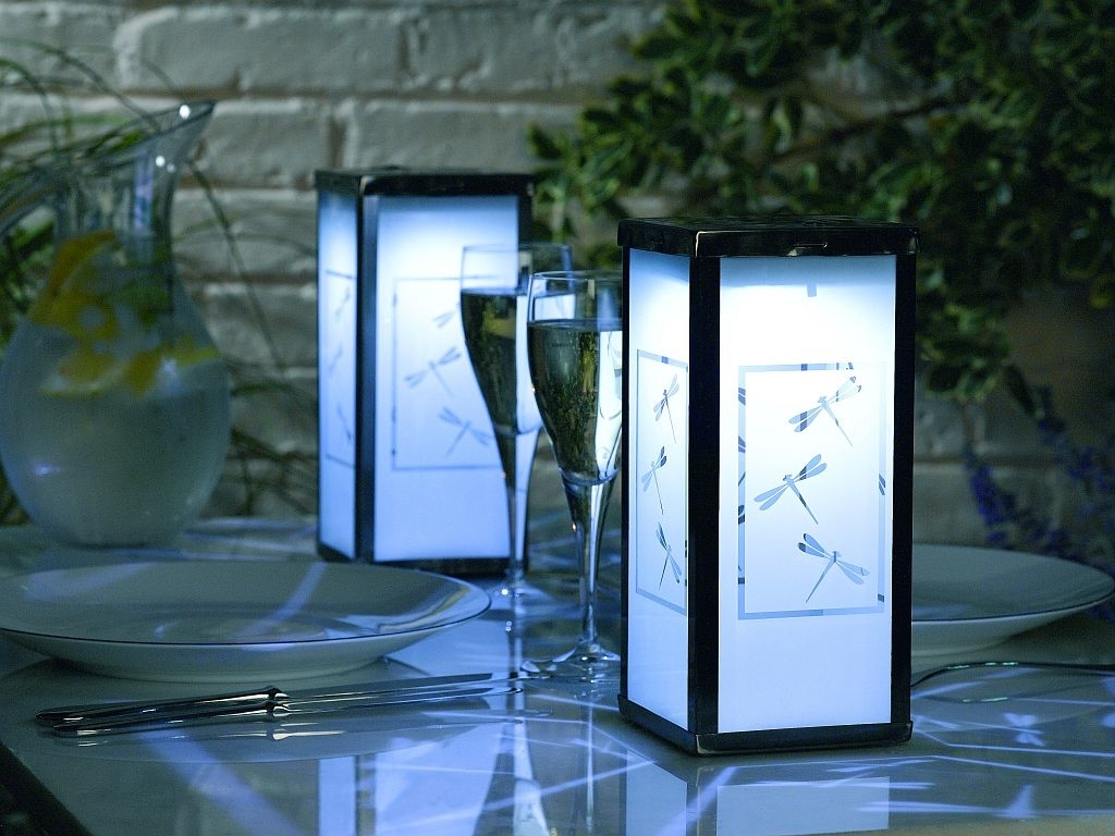 Modern Solar Outdoor Lanterns : Outdoor Furniture – Solar Outdoor Throughout Modern Outdoor And Garden Solar Lights (#8 of 15)