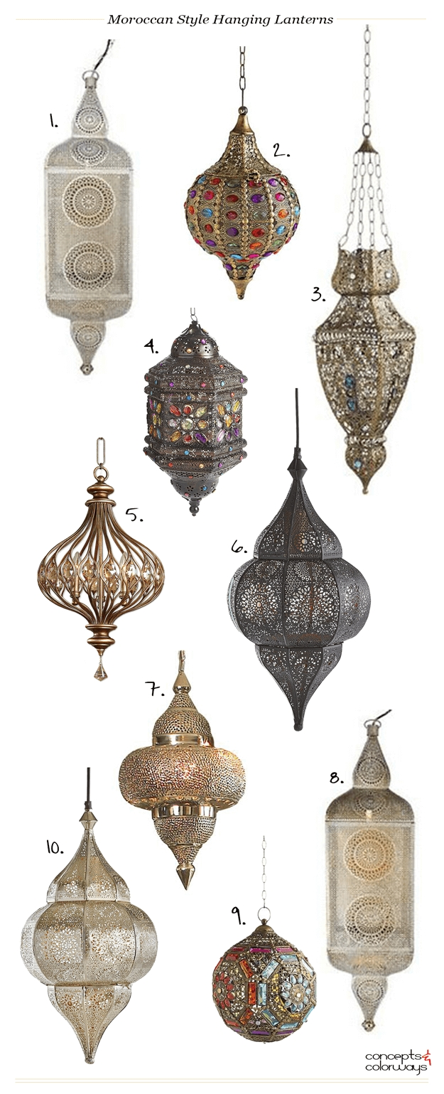 Inspiration about Moroccan Style Hanging Lanterns | Moroccan Lighting, Hanging For Outdoor Hanging Moroccan Lanterns (#4 of 15)