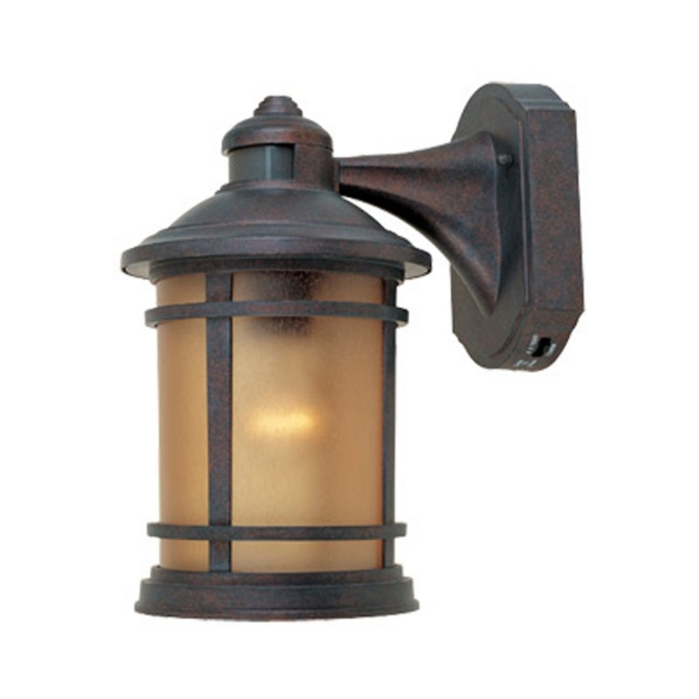 Motion Activated Outdoor Wall Light With Photocell Sensor | 2371Md In Led Outdoor Wall Lights With Photocell (View 14 of 15)