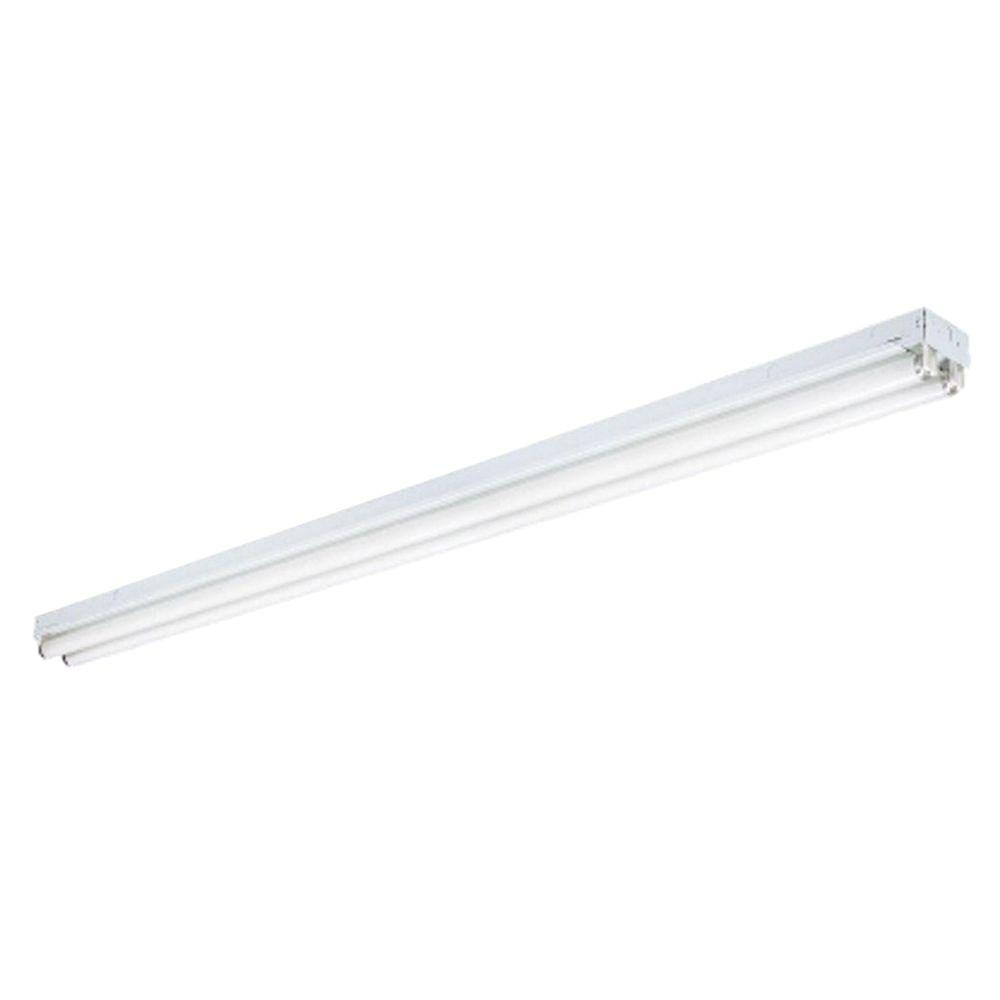 N 2 Light White Ceiling Commercial Strip Fluorescent Light C 2 96 With Regard To Outdoor Fluorescent Ceiling Lights (#11 of 15)