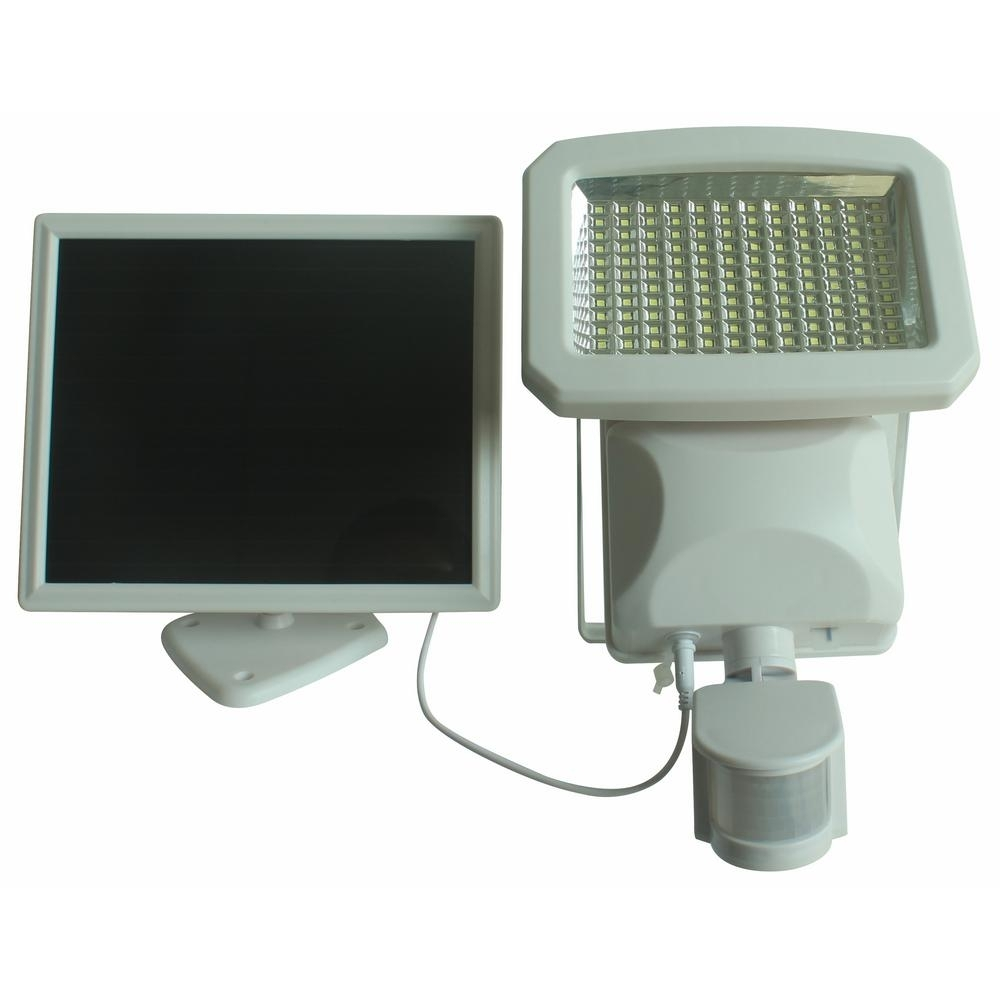Nature Power Outdoor 144 Led Solar Powered Motion Activated Security For Solar Powered Outdoor Lights (View 5 of 15)