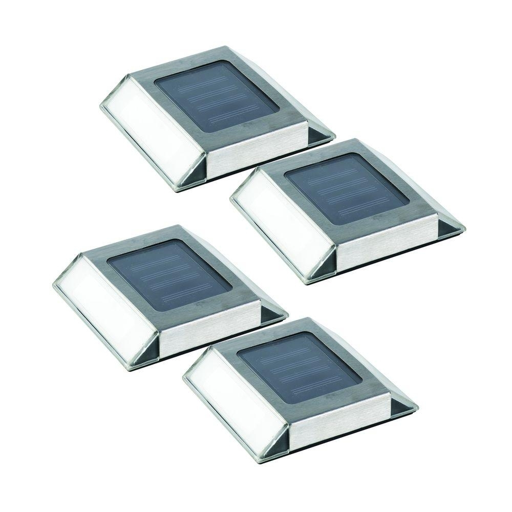 Nature Power Stainless Steel Outdoor Solar Outdoor Integrated Led In Contemporary Solar Driveway Lights At Home Depot (#5 of 15)
