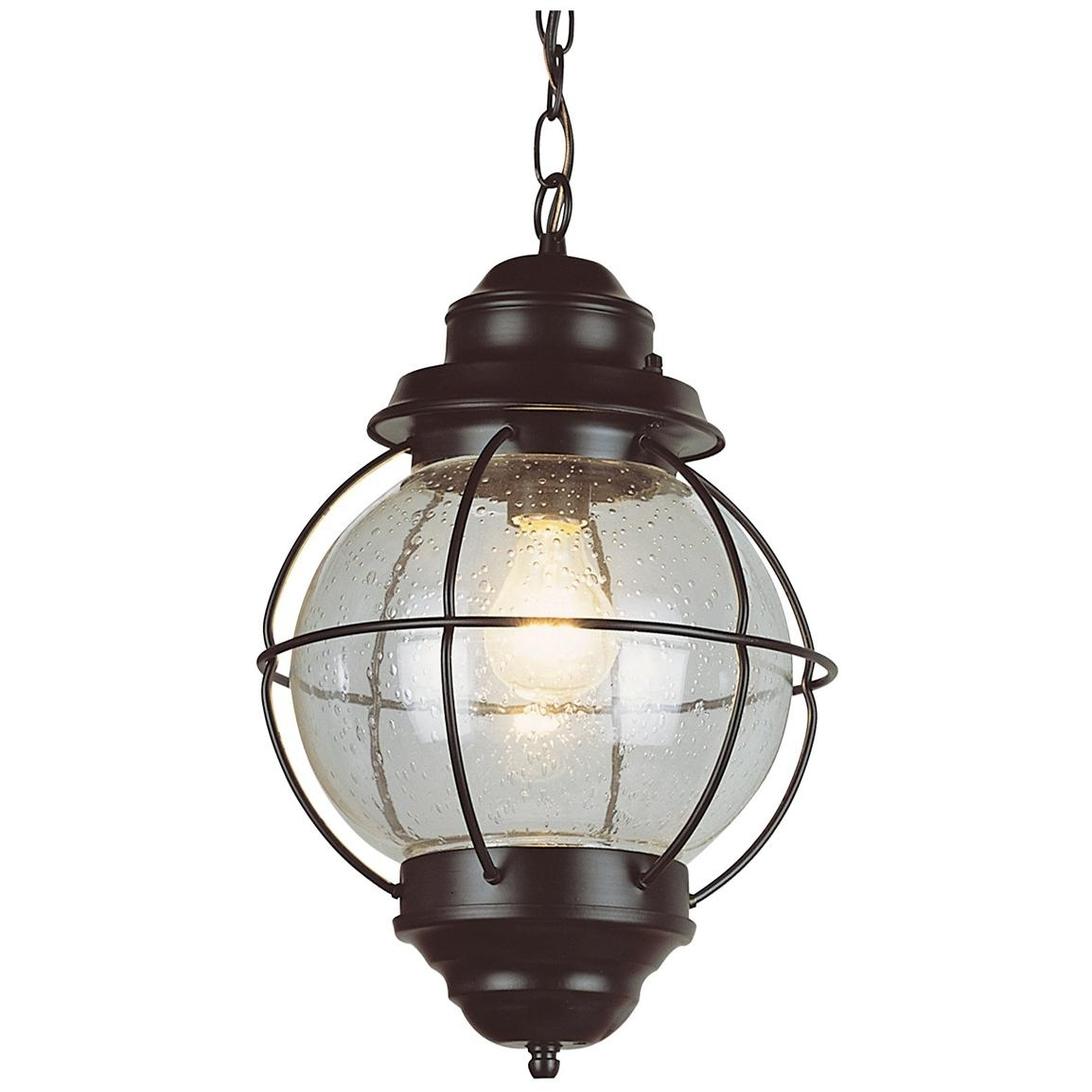 Nautical Hanging Globe Lantern   Things That Don't Fit In An Earthen With Regard To Outdoor Hanging Bar Lights (#10 of 15)