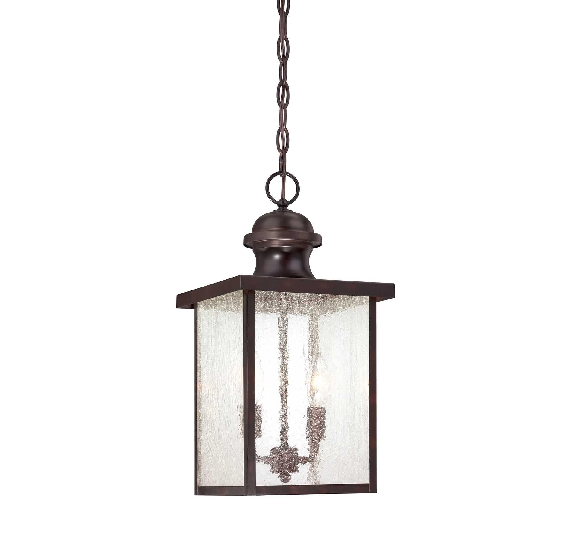 Newberry Hanging Exterior Lantern :: Outdoor Lighting :: Products In Outdoor Lighting Fixtures At Wayfair (View 7 of 15)