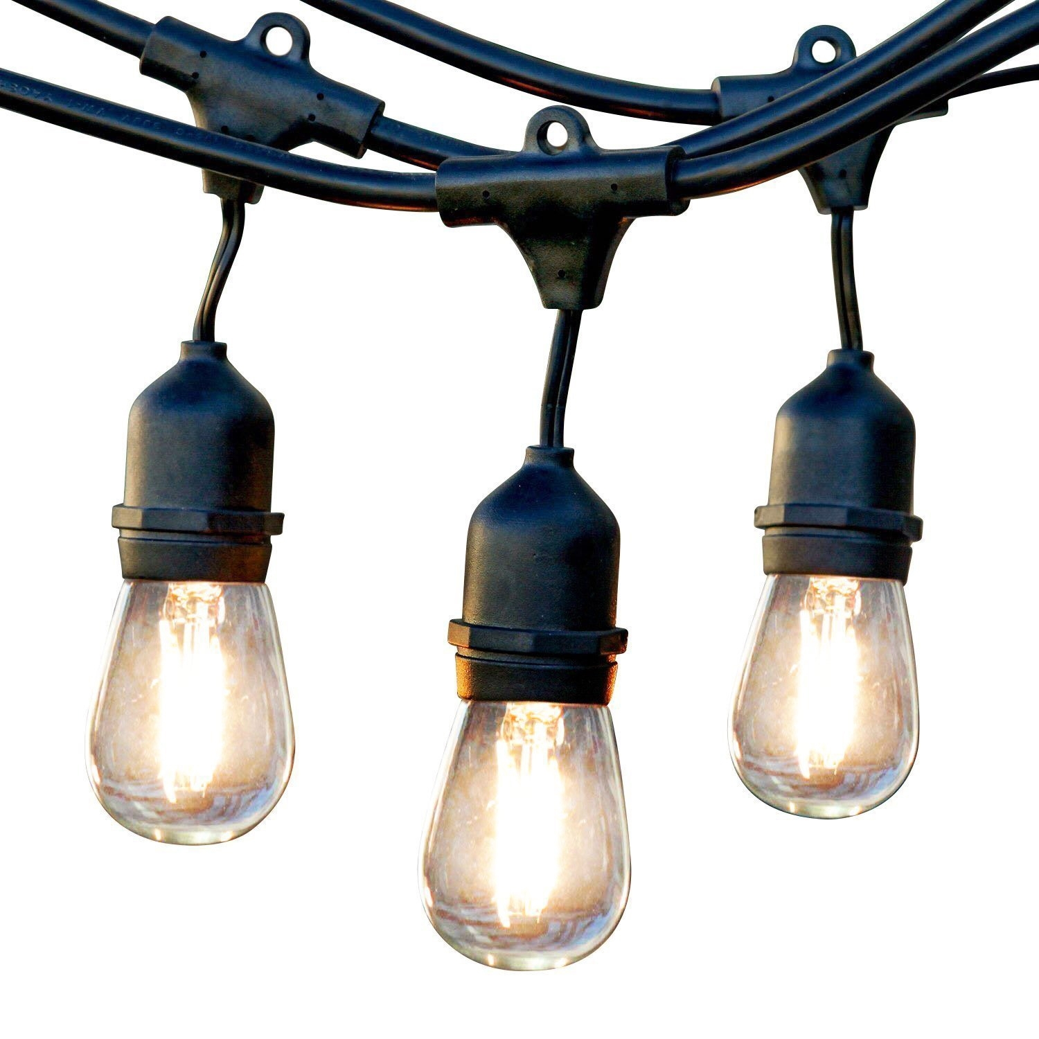 Newhouse Lighting Outdoor String Lights, Commercial Grade Led With Regard To Outdoor Hanging String Light Bulbs (#7 of 15)