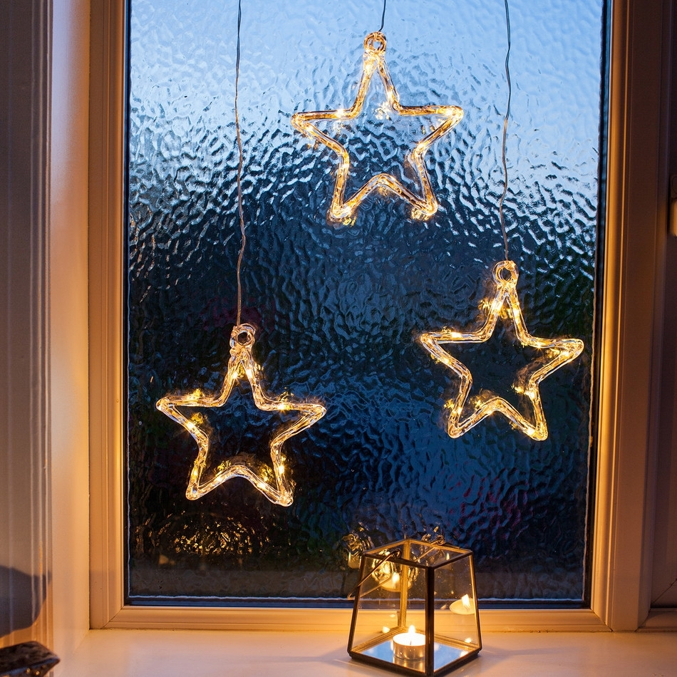 Nice Design Ideas Hanging Star Christmas Lights Outdoor Outside Inside Outdoor Hanging Star Lights (#11 of 15)