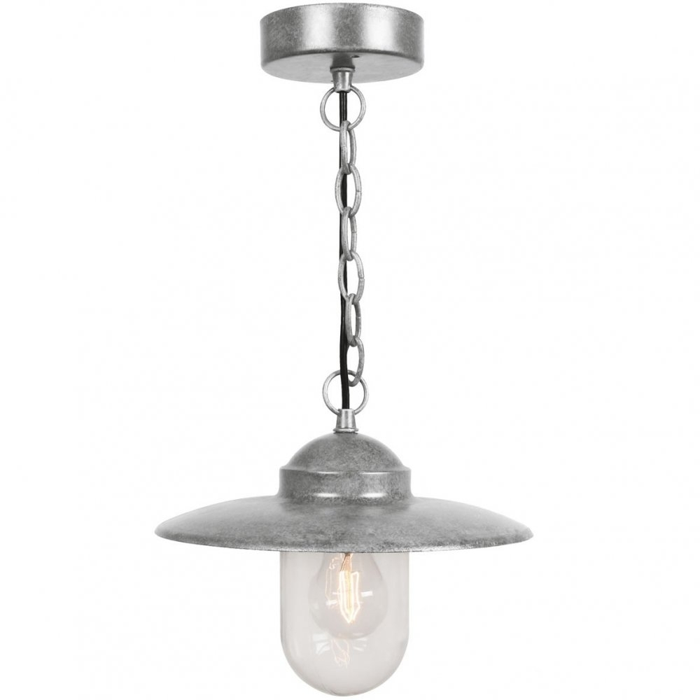 Nordlux Luxembourg 72805031 Galvanized Pendant – Nordlux From Throughout Galvanized Outdoor Ceiling Lights (#13 of 15)