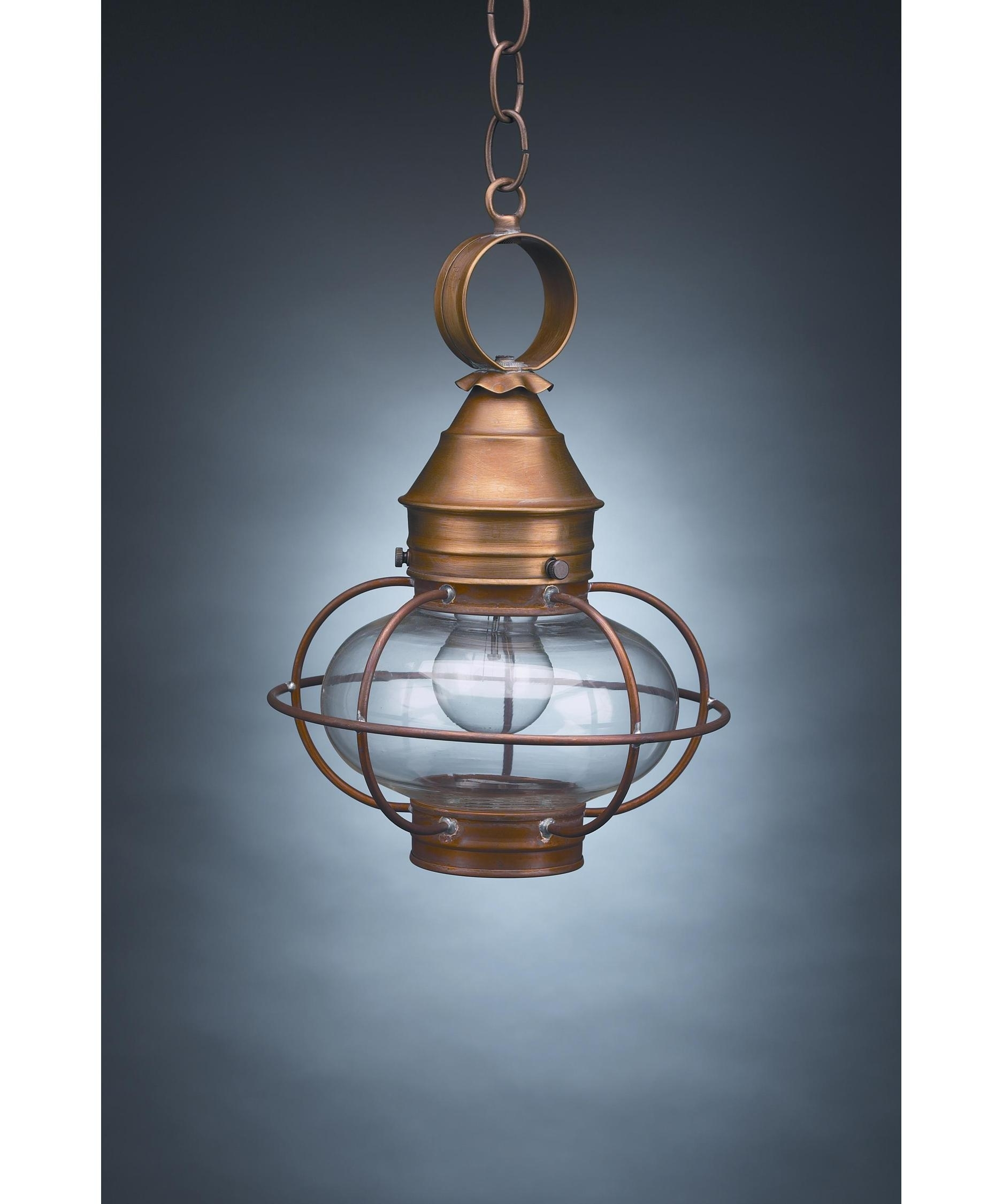 Northeast Lantern 2522 Med Onion 9 Inch Wide 1 Light Outdoor Hanging Pertaining To Hanging Outdoor Onion Lights (#9 of 15)