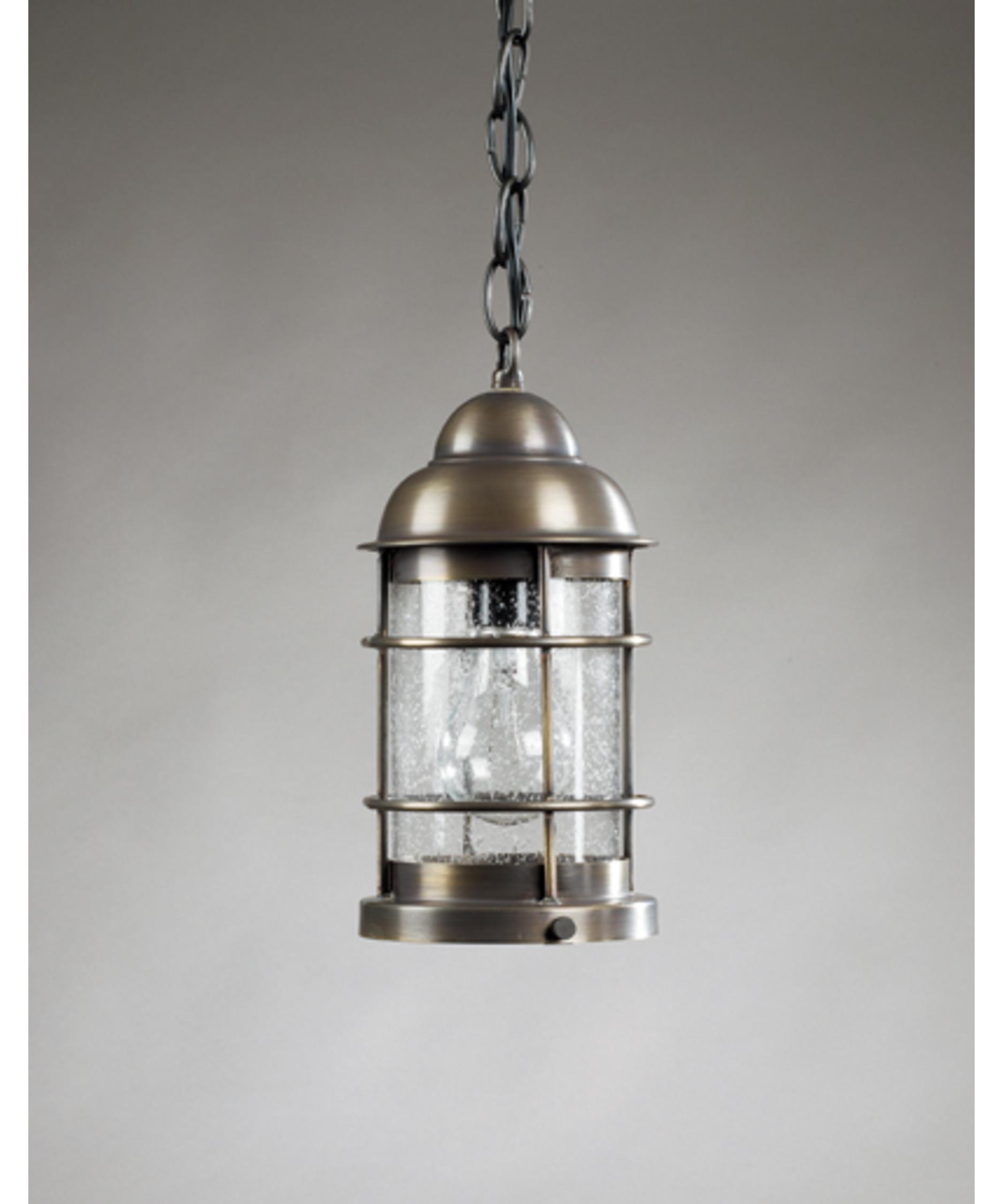 Northeast Lantern 3512 Med Nautical 6 Inch Wide 1 Light Outdoor Inside Outdoor Hanging Lantern Lights (View 12 of 15)