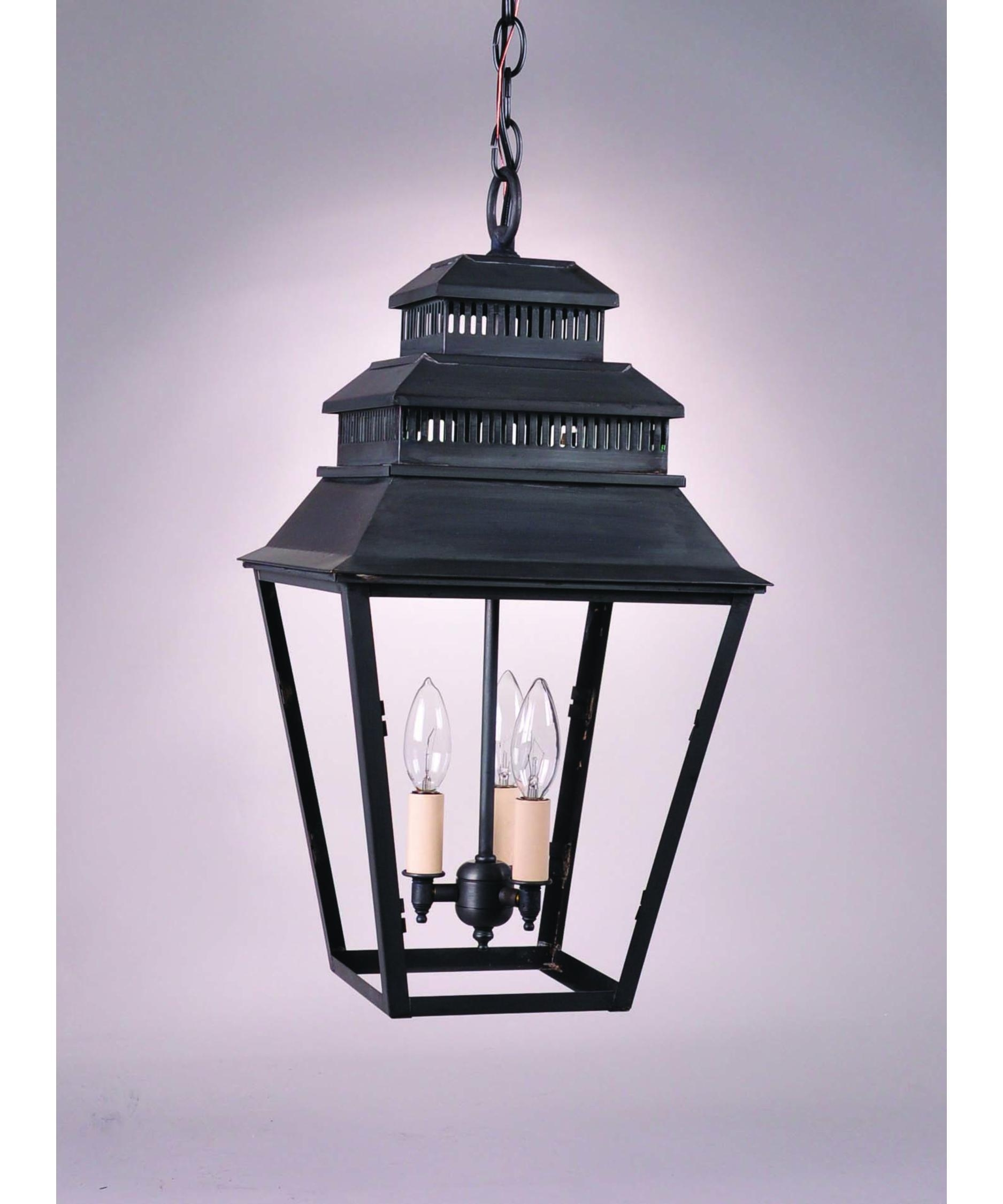 Northeast Lantern 8642 Med Elryan 11 Inch Wide 1 Light Outdoor Within Outdoor Hanging Glass Lights (View 9 of 15)