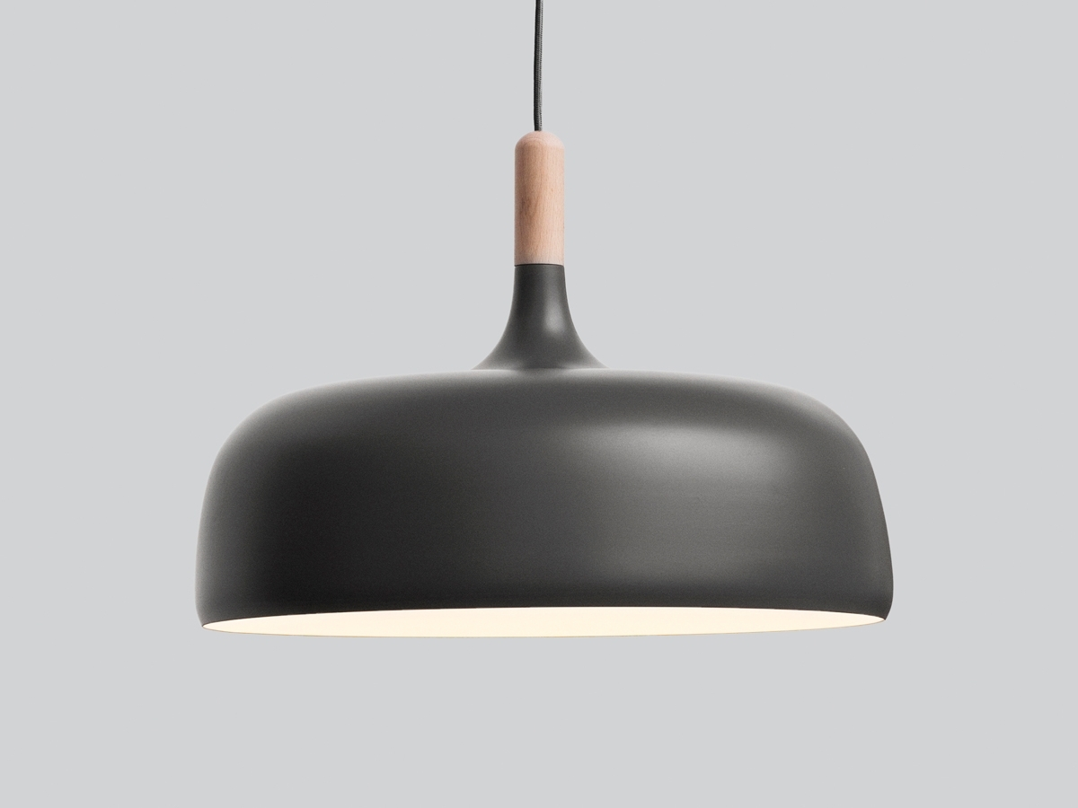 Northern Acorn Pendant Light – Grey | Pendant Lighting, Lights And Regarding Outdoor Ceiling Lights From Australia (#11 of 15)