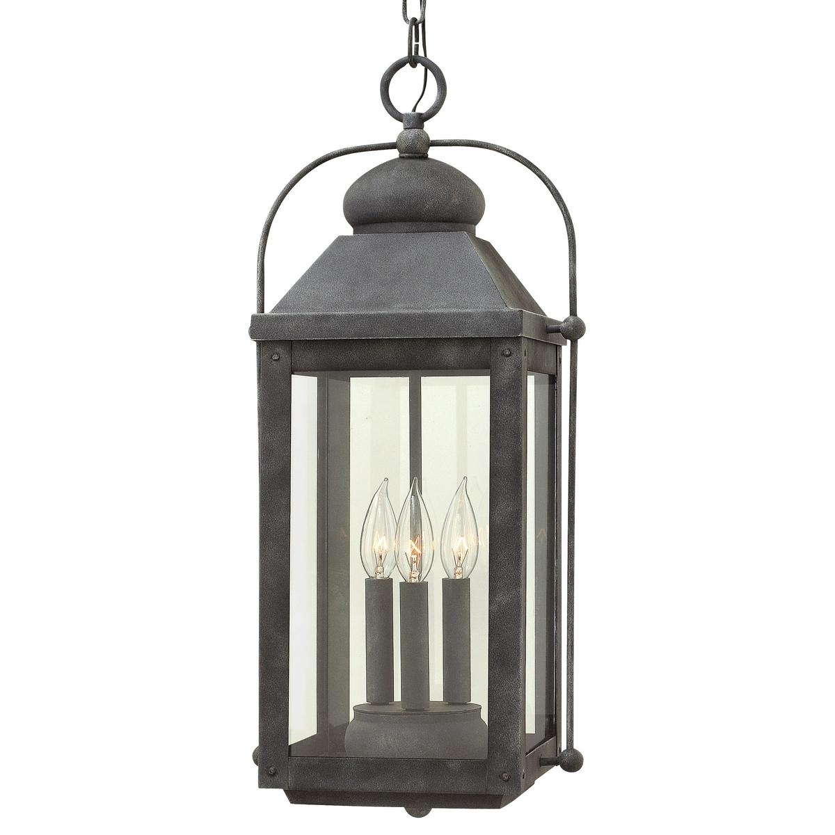 Nostalgic Arched Carriage Hanging Outdoor Lantern | Lights, Lantern In Outdoor Hanging Pool Lights (#12 of 15)