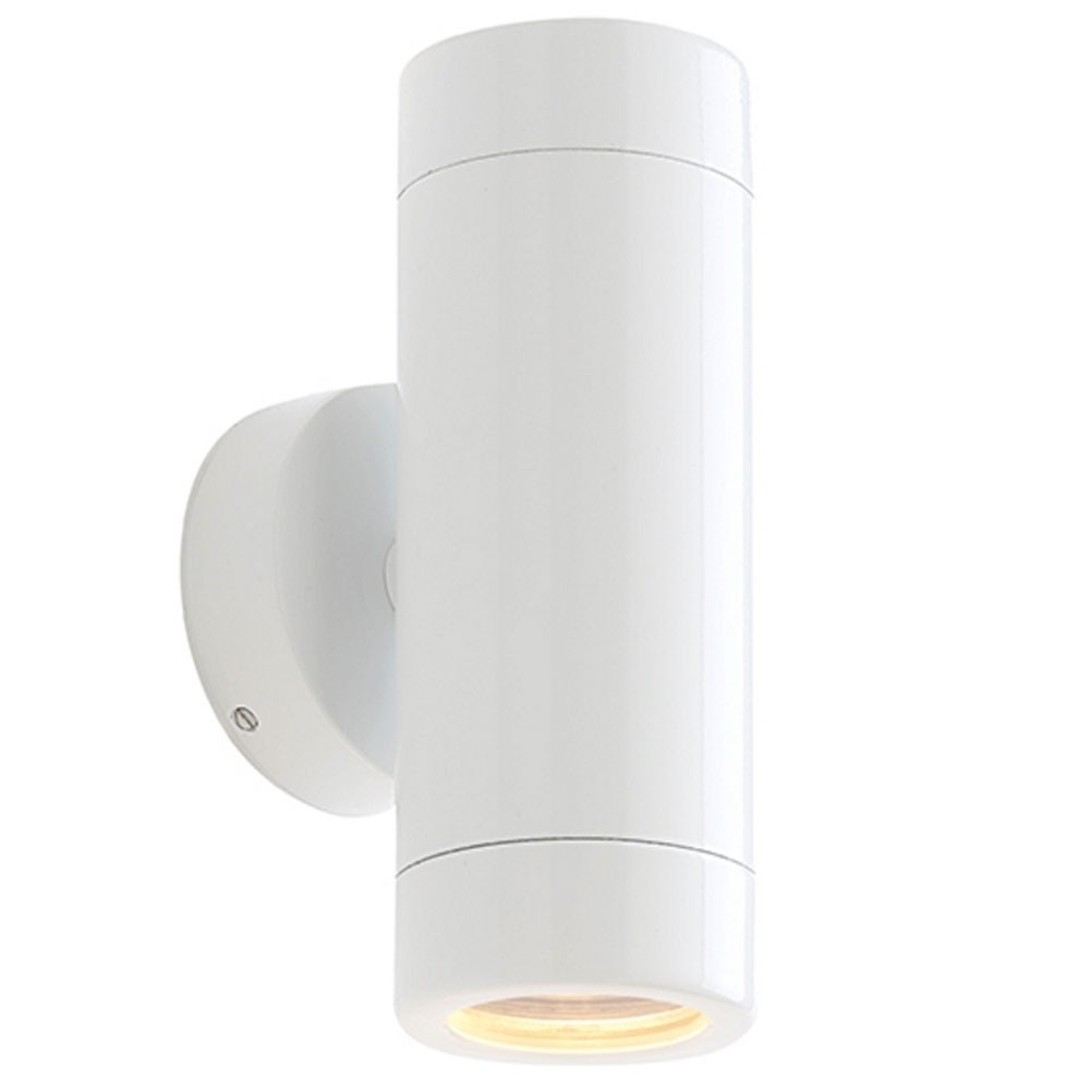 Odyssey Premium White Up/down Outdoor Wall Light (Ip65) | St5008W Pertaining To Ip65 Outdoor Wall Lights (View 12 of 15)