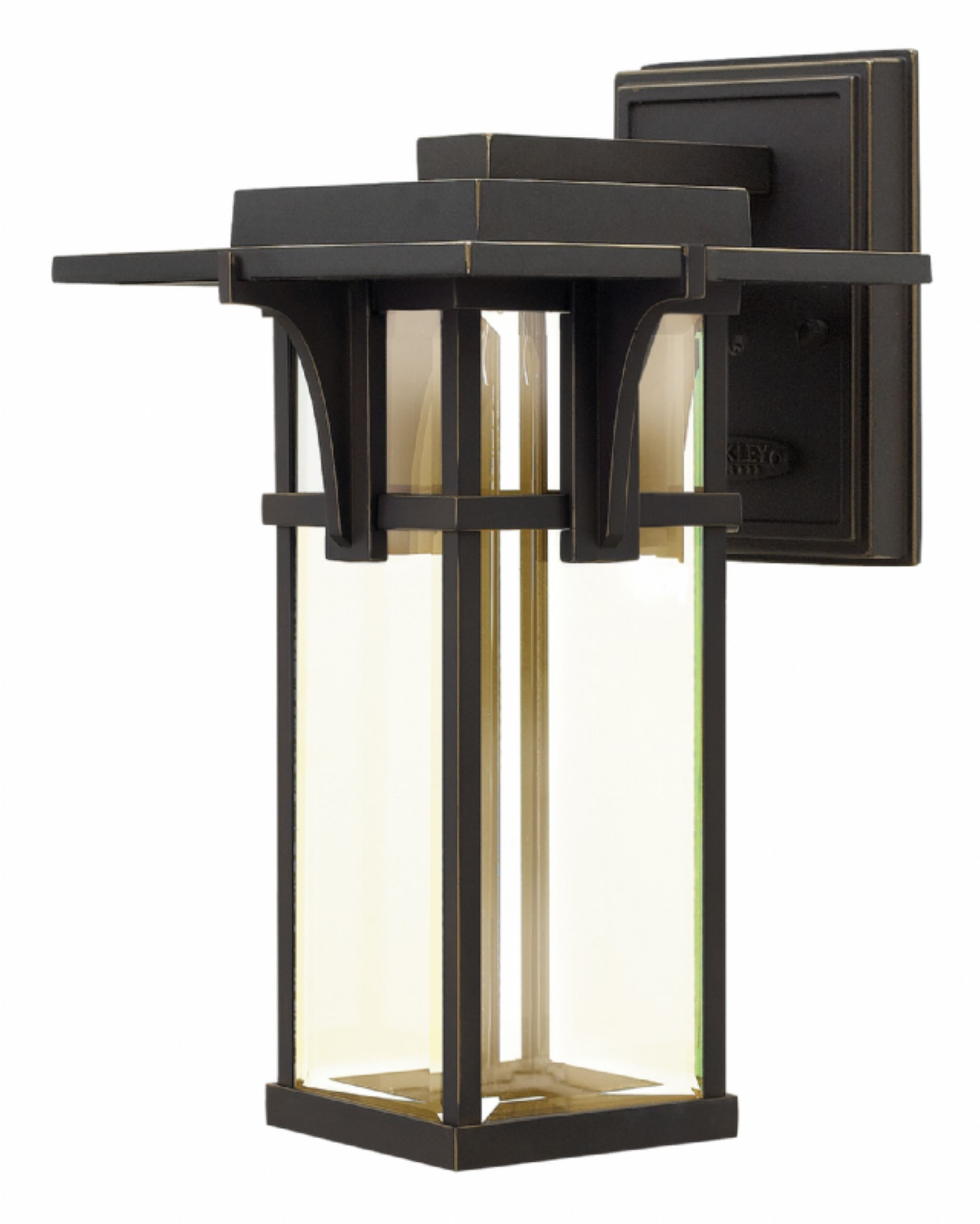 Oil Rubbed Bronze Manhattan > Exterior Wall Mount In Outdoor Lighting And Light Fixtures (View 15 of 15)