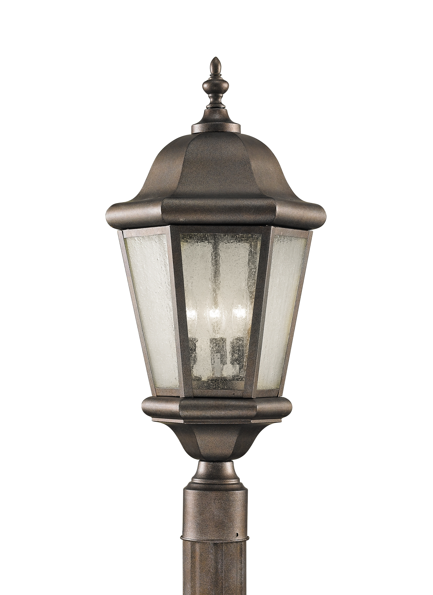Ol5907Cb,3 – Light Post,corinthian Bronze Within Outdoor Hanging Post Lights (#9 of 15)