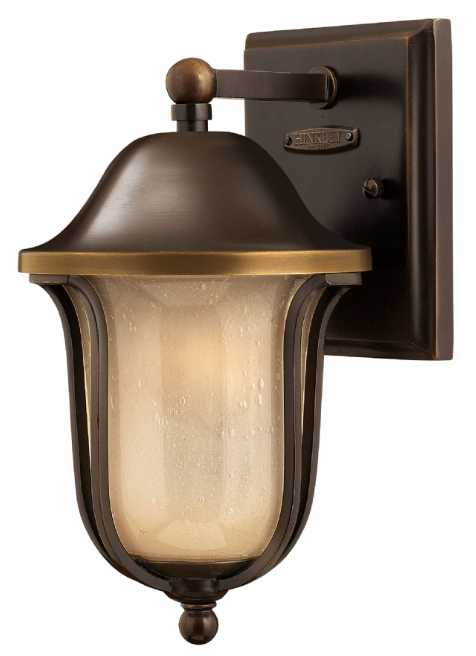 Olde Bronze Bolla > Exterior Wall Mount With Double Wall Mount Hinkley Lighting (#14 of 15)