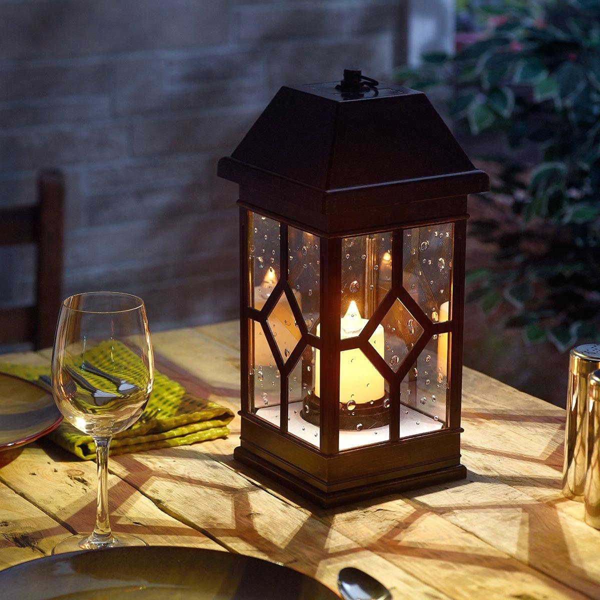Outdoor Candle Lanterns For Patio Uk – Outdoor Designs With Outdoor And Garden String Lights At Wayfair (#10 of 15)