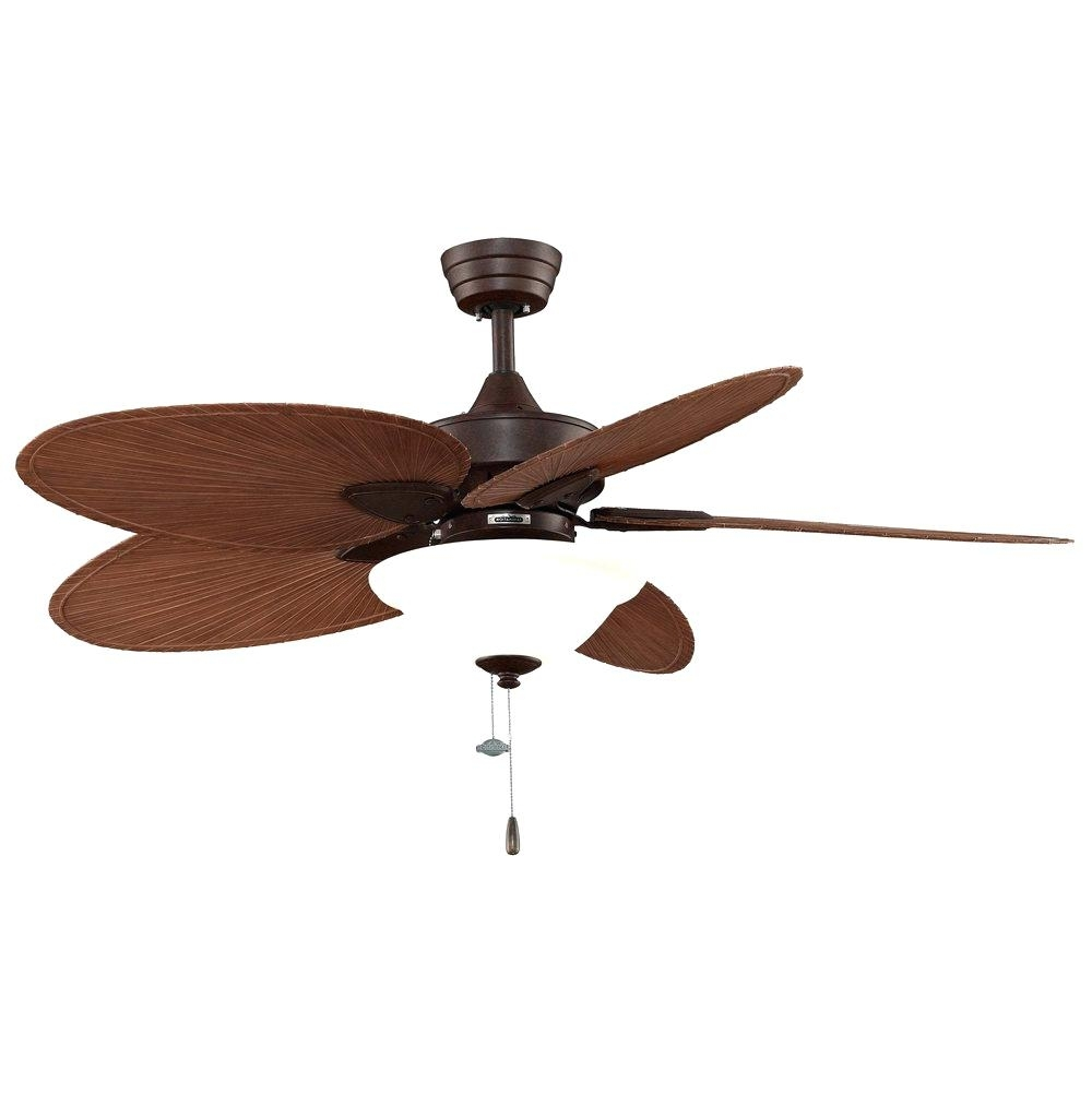 Outdoor Ceiling Fans With Lights Flush Mount Without Outside Throughout Outdoor Ceiling Fans With Lights At Walmart (#13 of 15)