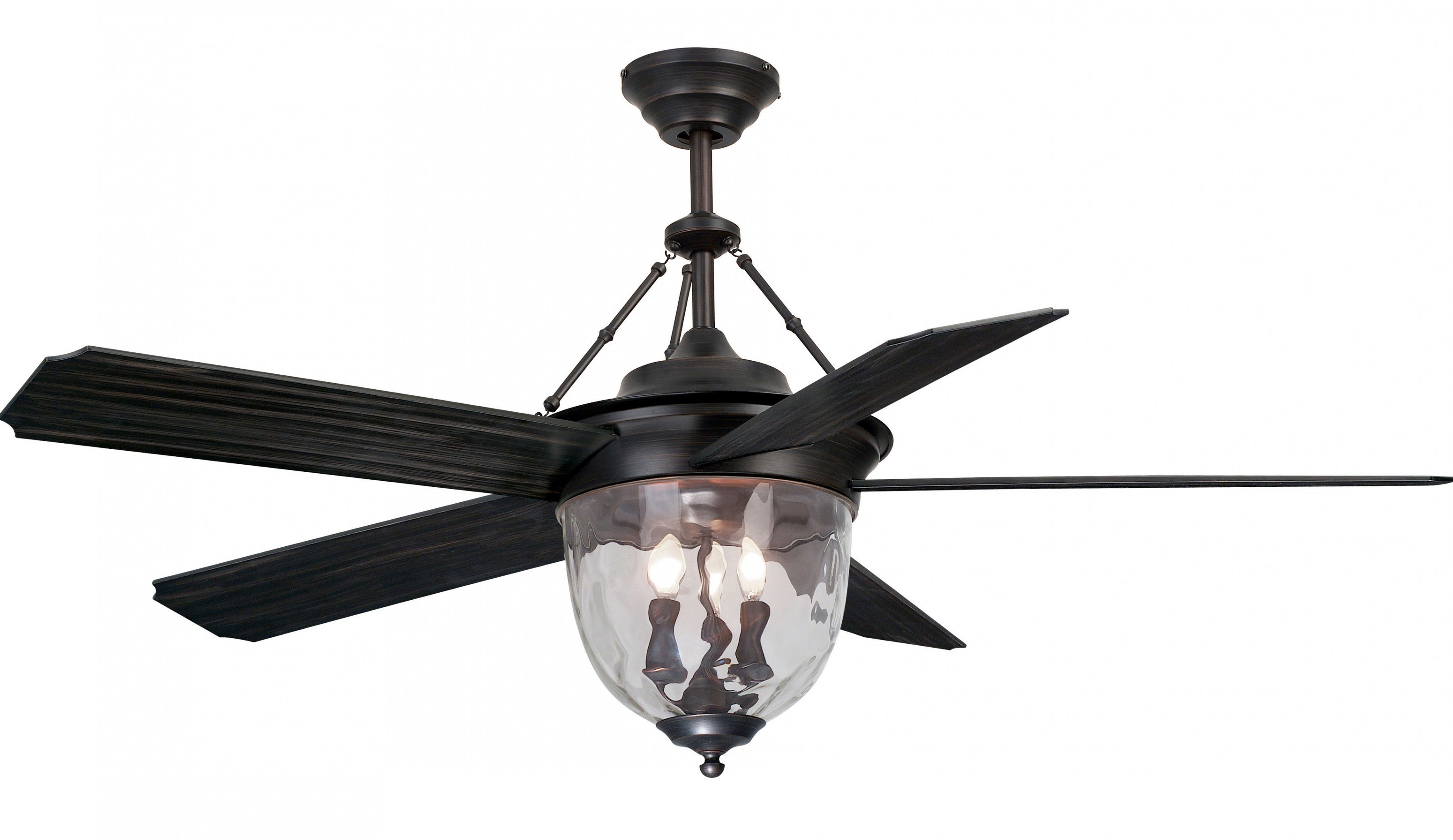 Popular Photo of Outdoor Ceiling Fans Lights At Lowes