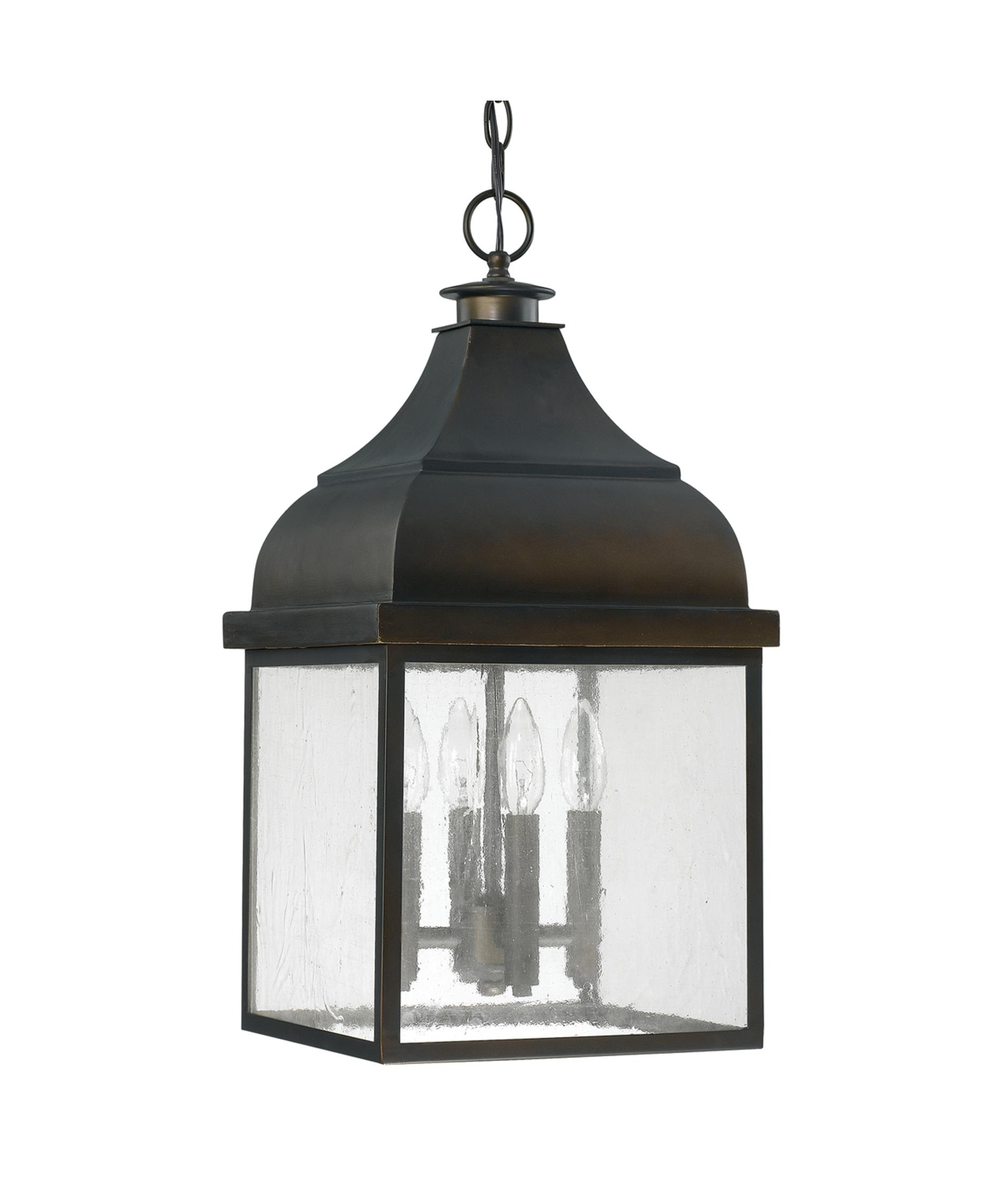 Outdoor Ceiling Lights: Hanging, Flush Mount Lights Regarding Outdoor Hanging Lanterns With Stand (View 8 of 15)
