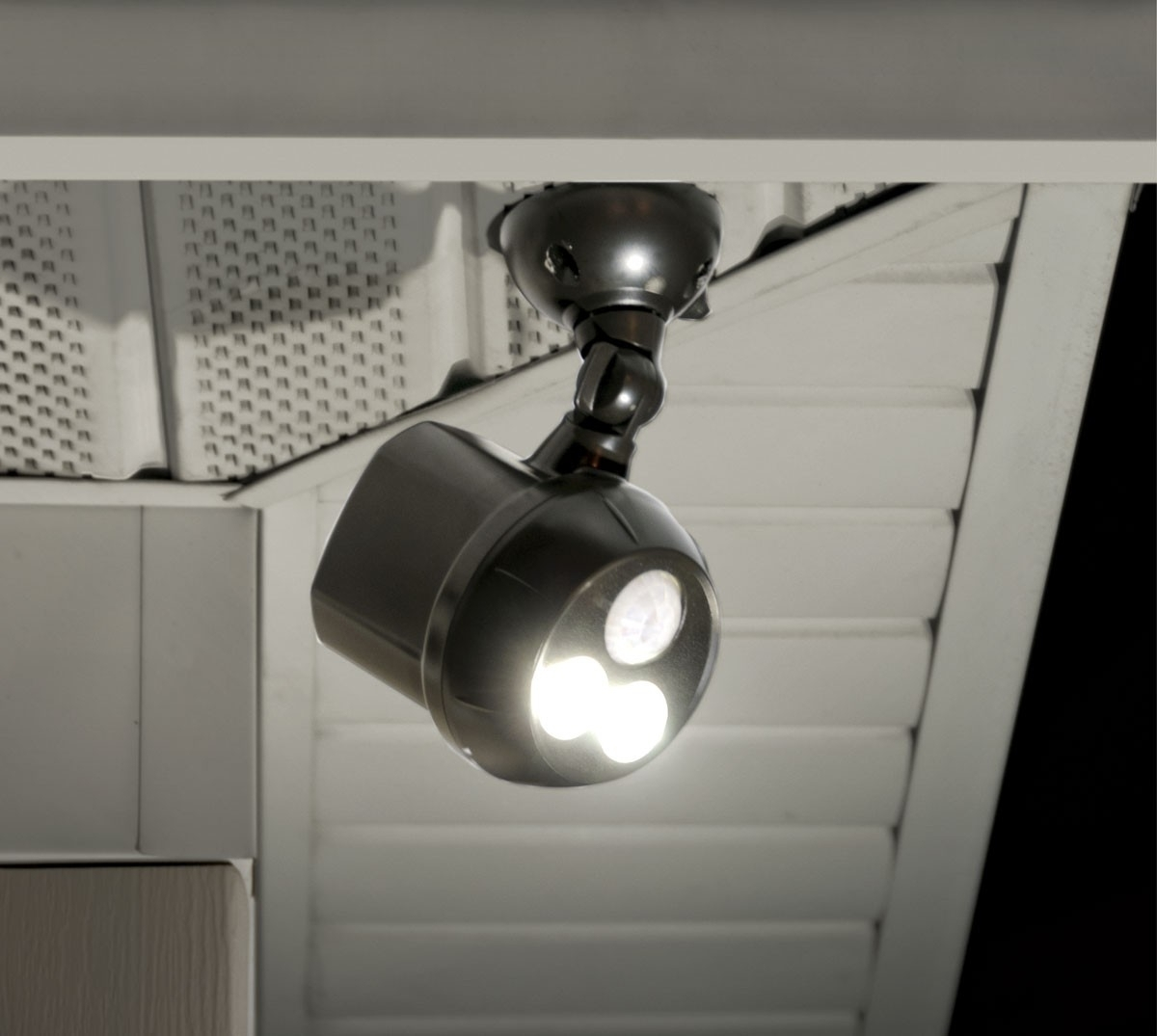 Outdoor Ceiling Mount Motion Sensor Light • Outdoor Lighting Intended For Outdoor Ceiling Security Lights (View 3 of 15)