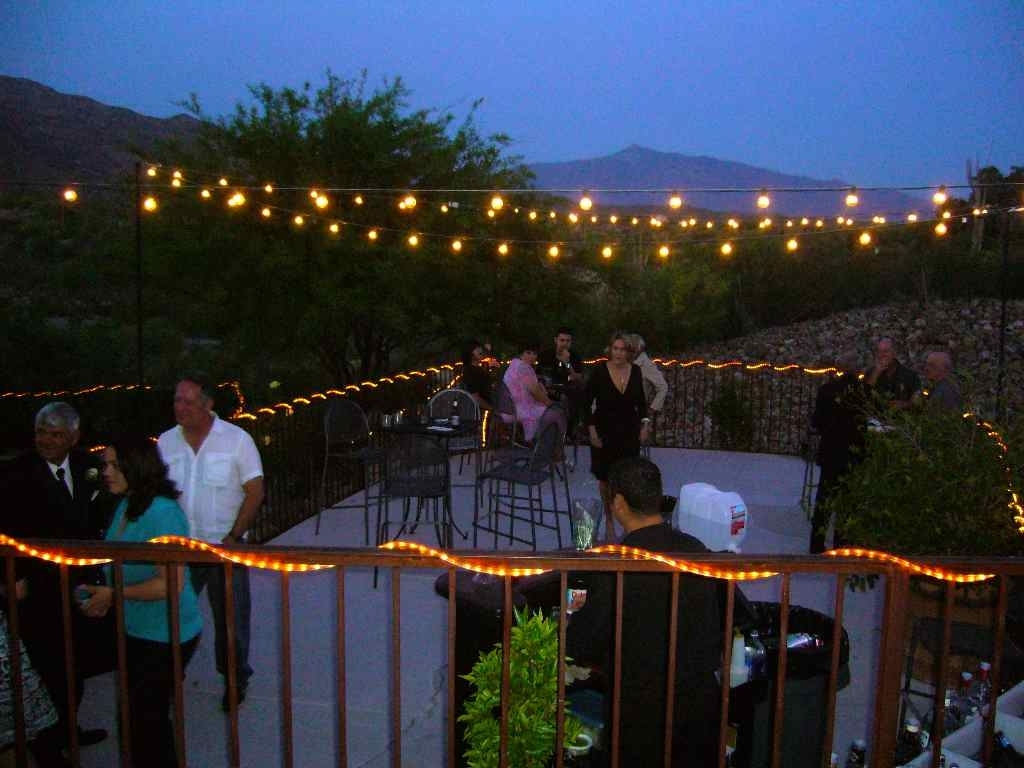 Outdoor Deck String Lighting Also How To Hang Lights On Ideas Images For Outdoor Hanging Decorative Lights (#7 of 15)