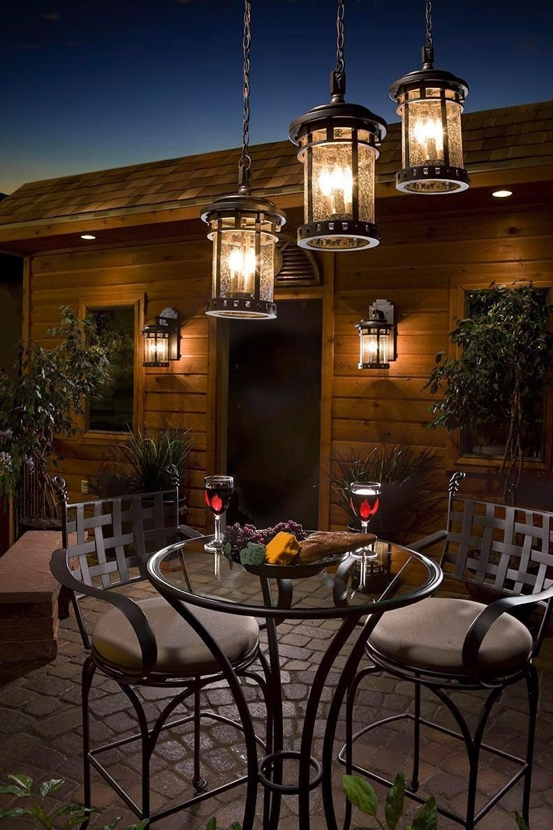Outdoor Dinner For Two | Romantic Dinner For Two | Pinterest Within Outdoor Hanging Lights For Patio (View 5 of 15)