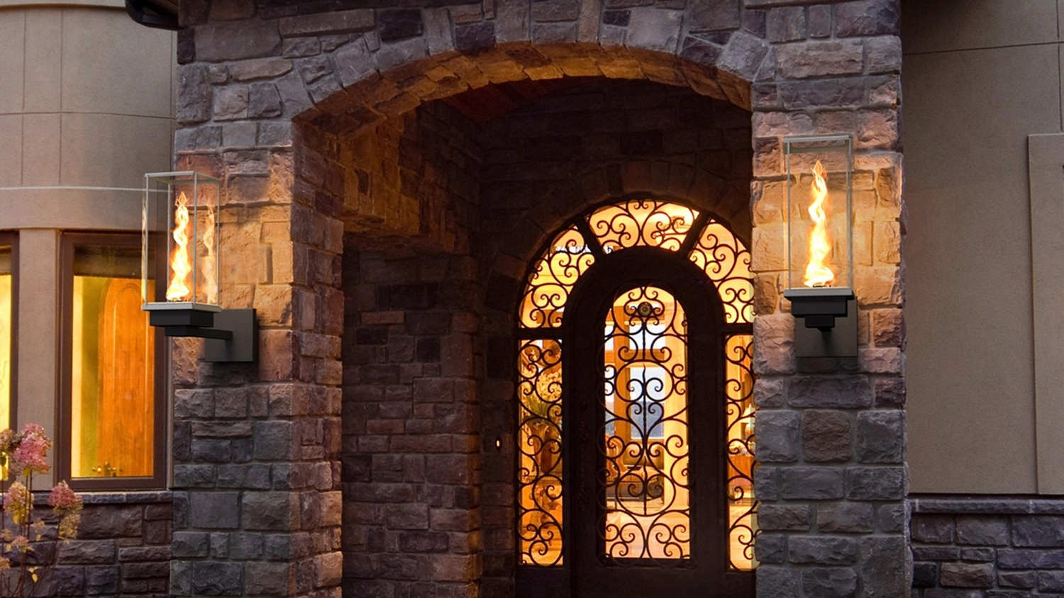 Outdoor Gas Lamps And Lighting | Tempest Torch Throughout Outdoor Wall Gas Lights (#8 of 15)