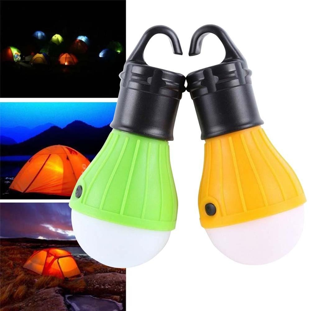 Outdoor Hanging 3X Q5 Led Camping Lantern Soft Light Led Camp Lights Intended For Outdoor Hanging Plastic Lanterns (#8 of 15)