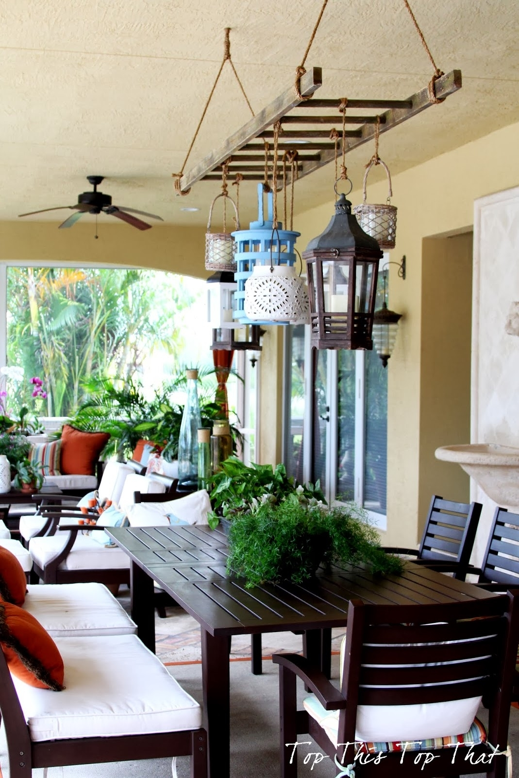 Outdoor Hanging Lanterns For Patio Decorate Ideas Simple At Lantern With Outdoor Hanging Patio Lanterns (View 2 of 15)