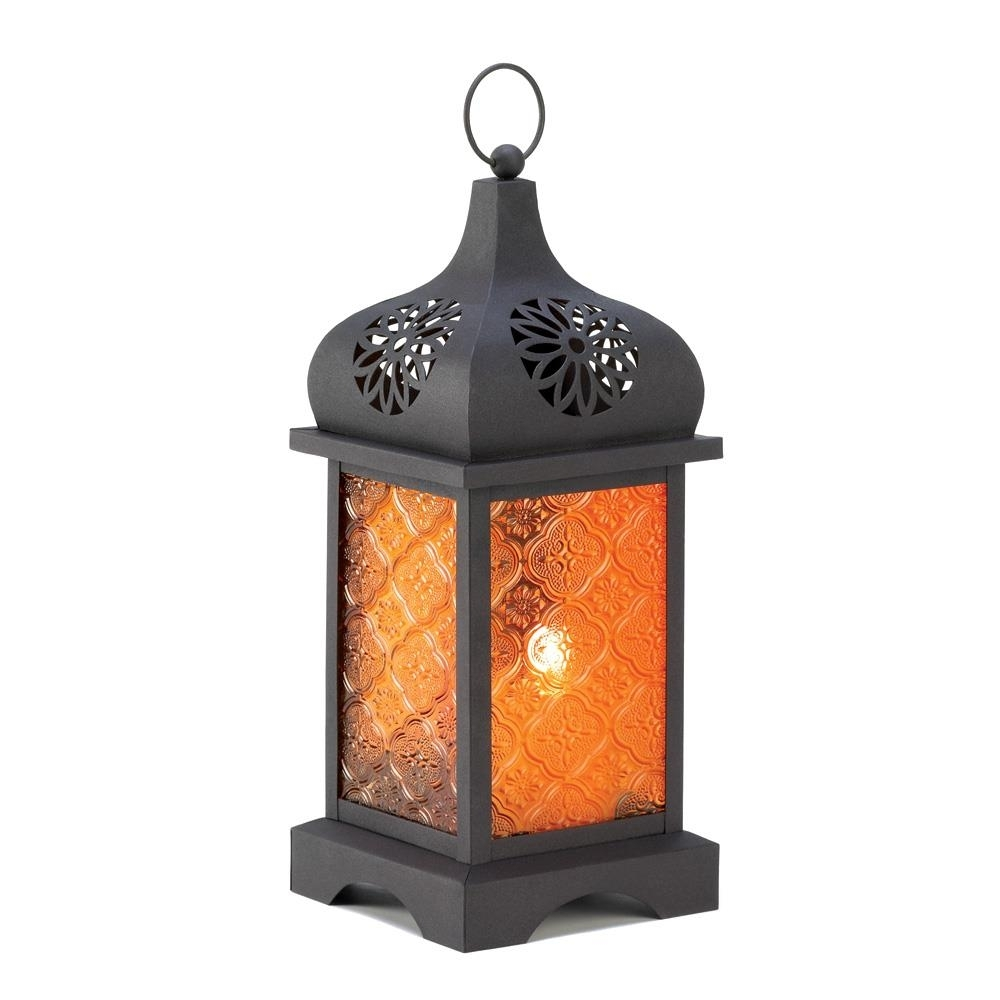 Outdoor Hanging Lanterns, Vintage Decorative Moroccan Candle Lantern For Outdoor Hanging Lanterns For Candles (#9 of 15)