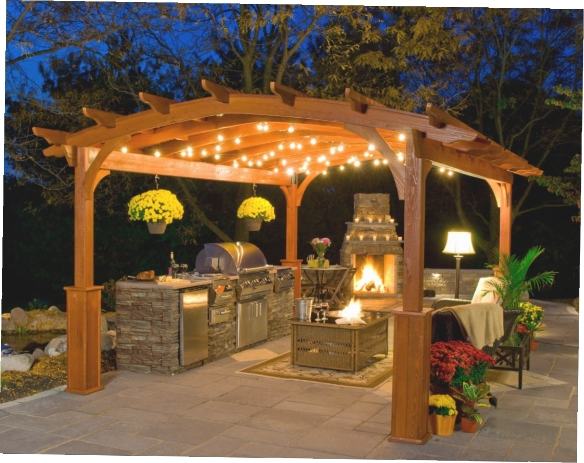 Outdoor Hanging Lights For Gazebos • Outdoor Lighting Regarding Outdoor Hanging Lights For Gazebos (View 4 of 15)