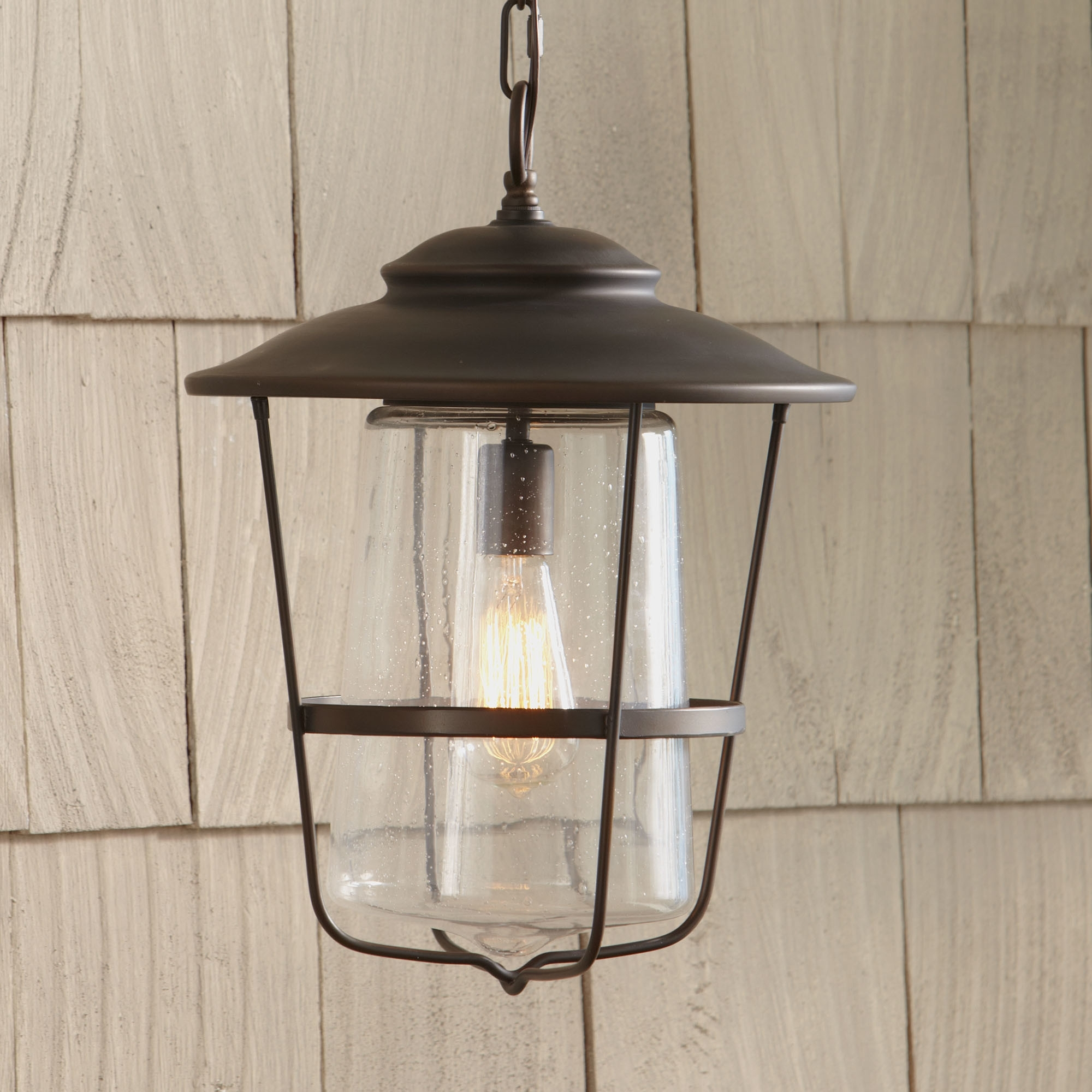 Inspiration about Outdoor Hanging Lights Wayfair Remington Lantern ~ Loversiq For Contemporary Rustic Outdoor Lighting At Wayfair (#3 of 15)