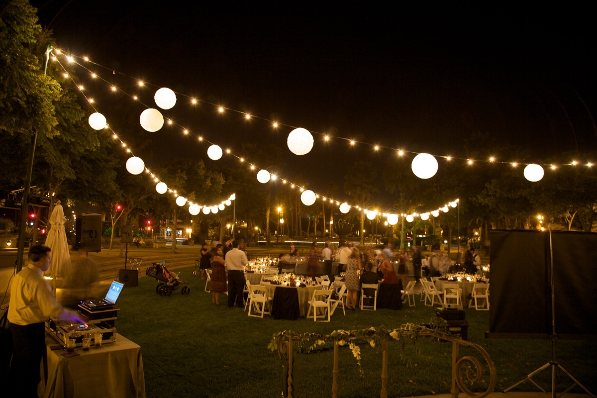 Outdoor Hanging String Lights Stringhts Bella Vista Designs Patio Pertaining To Hanging Outdoor Lights For A Party (#11 of 15)