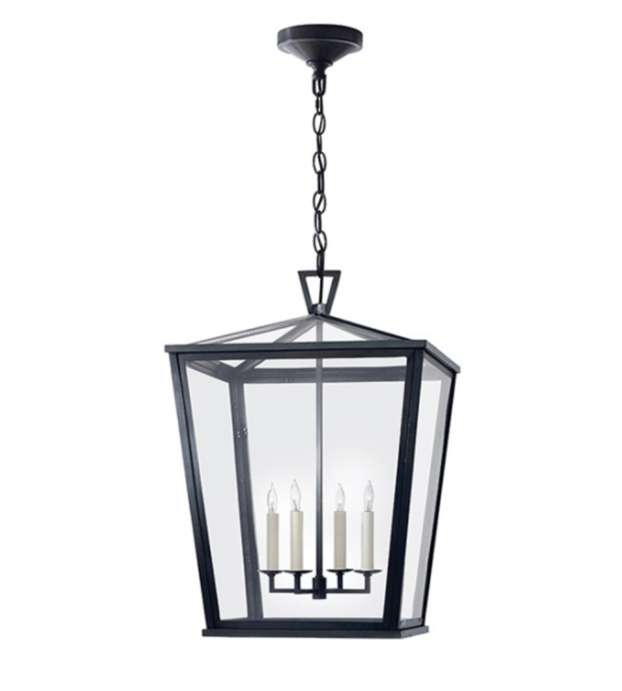 Popular Photo of Outdoor Hanging Glass Lanterns
