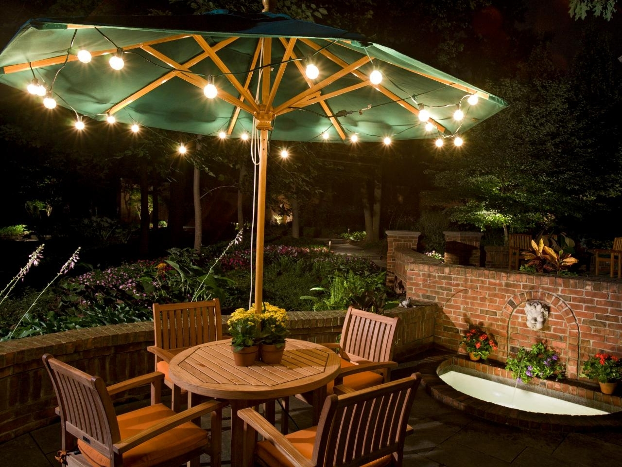 Outdoor Landscape Lighting | Hgtv Pertaining To Garden And Outdoor String Lights (#12 of 15)