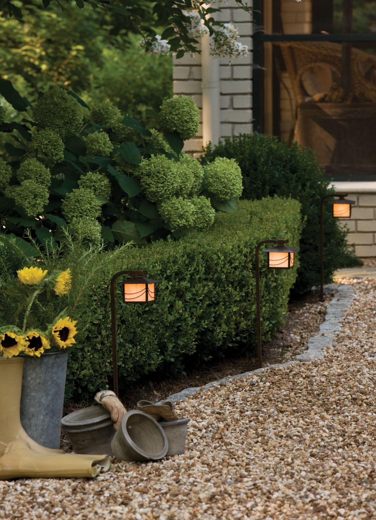 Outdoor, Landscape Lighting, Led Path Lights | House Of Lights Throughout Modern Garden Landscape Hinkley Lighting (#14 of 15)