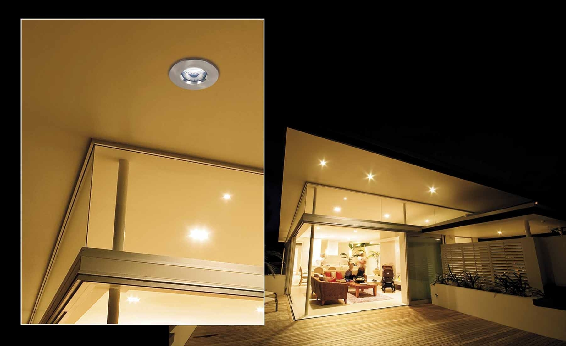 Outdoor Led Recessed Lighting – Outdoor Designs Inside Outdoor Ceiling Downlights (#7 of 15)
