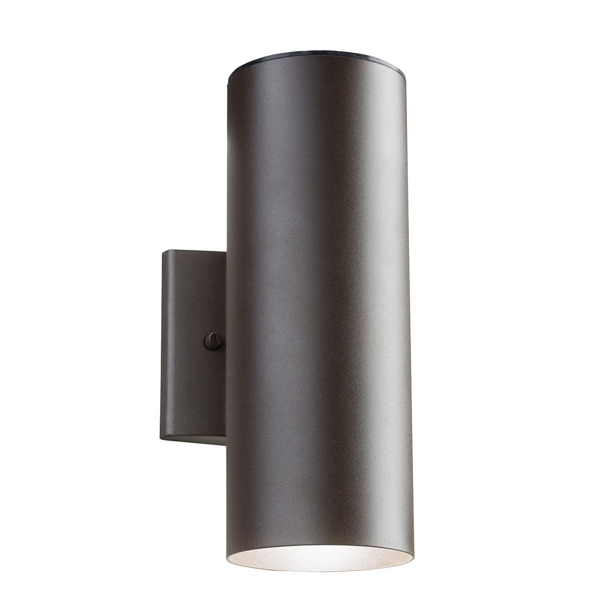 Outdoor Led Up/down Wall Sconcekichler | 11251Azt30 Inside Black Outdoor Led Wall Lights (#14 of 15)