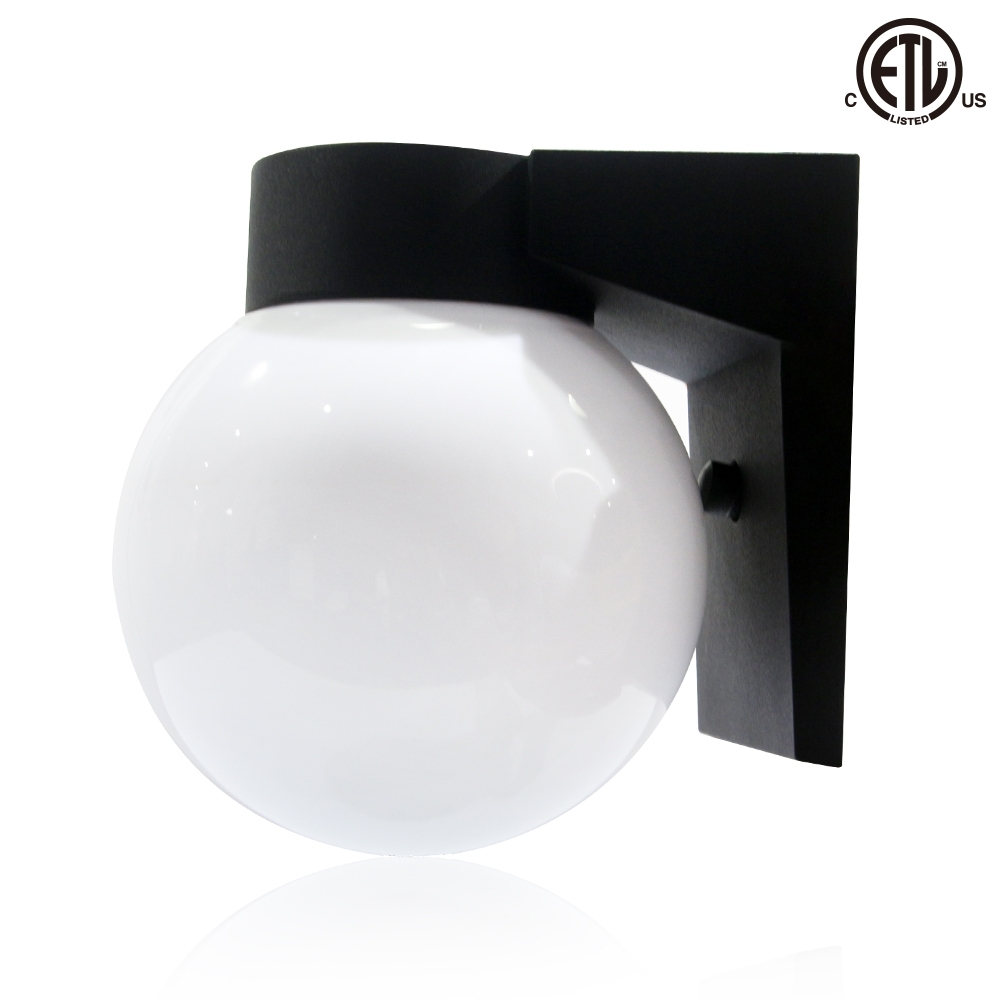 Outdoor Light Fixtures Archive – Bestworldled Throughout Outdoor Wall Mounted Globe Lights (#12 of 15)