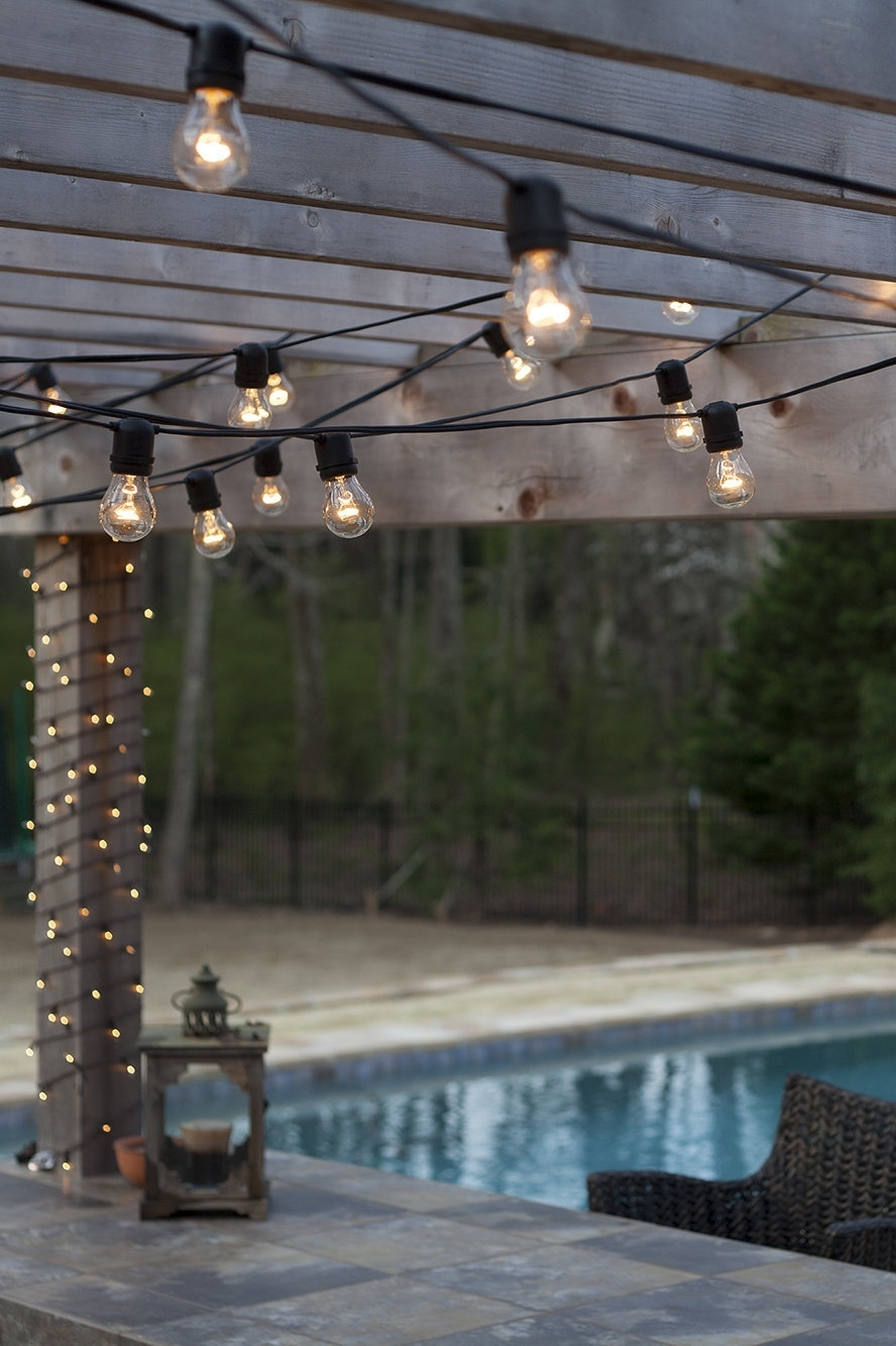 15 Photo Of Hanging Outdoor Lights On Stucco