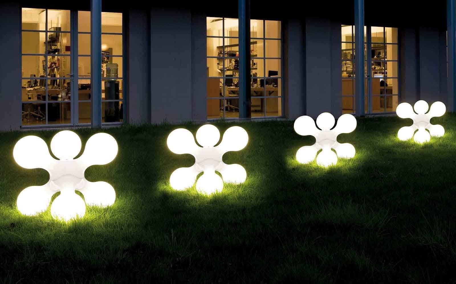Outdoor Lighting: Amusing Outdoor Solar Lighting Fixtures Outdoor In Contemporary Solar Garden Lighting Fixtures (#11 of 15)