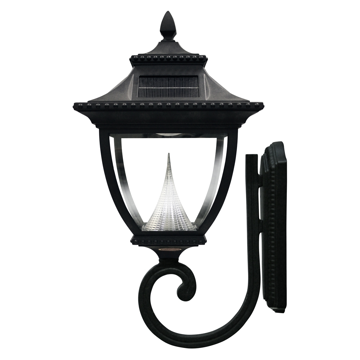 Outdoor Lighting: Extraordinary Solar Carriage Lights Solar Powered Inside Solar Powered Outdoor Wall Lights (View 15 of 15)