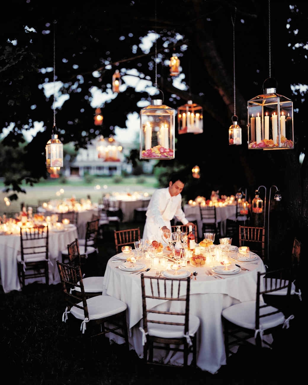 Outdoor Lighting Ideas Martha Stewart Hanging Paper Lanterns With Regard To Outdoor Hanging Paper Lanterns (View 12 of 15)